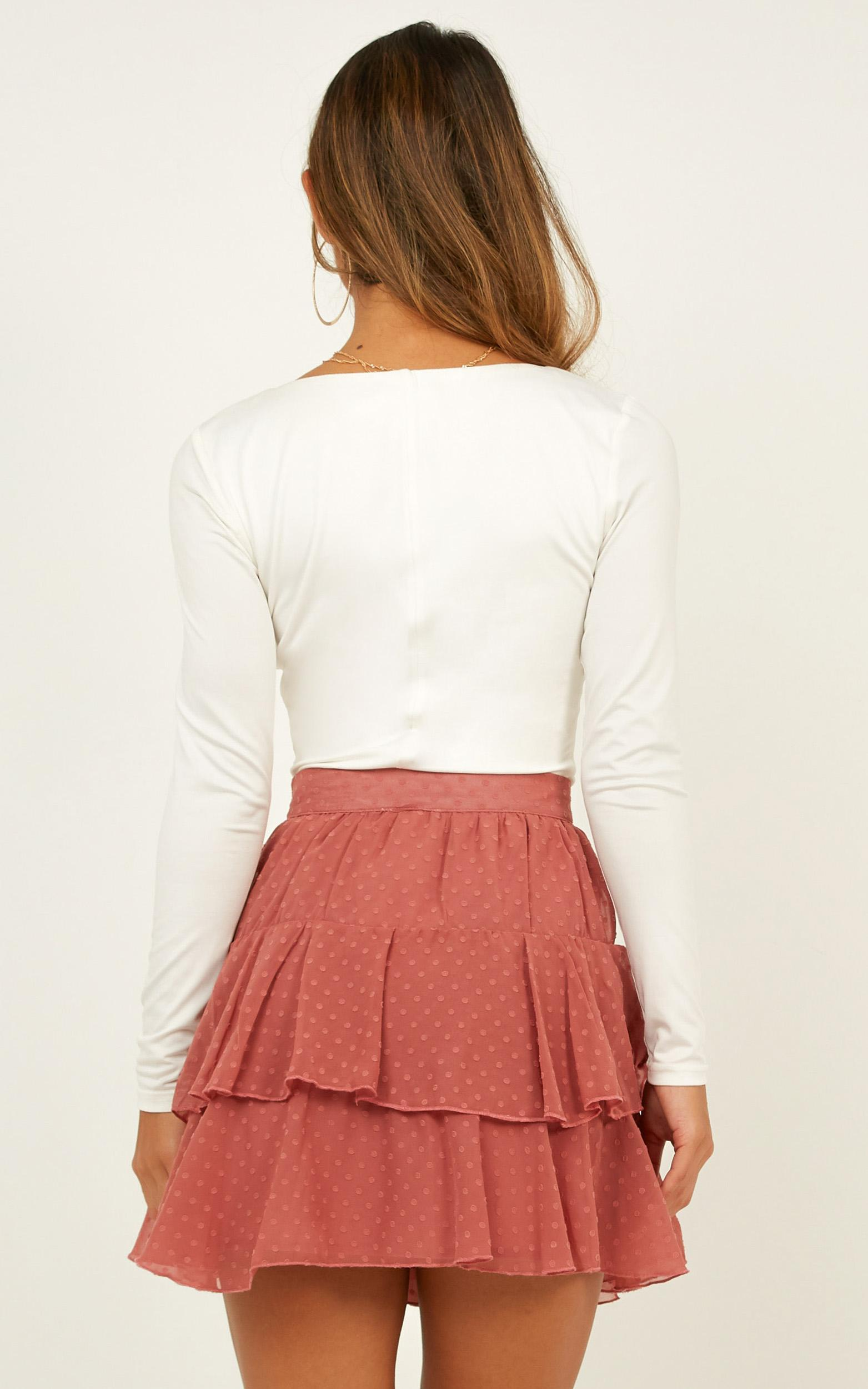 High Stakes Skirt in dusty rose - 20 (XXXXL), Pink, hi-res image number null