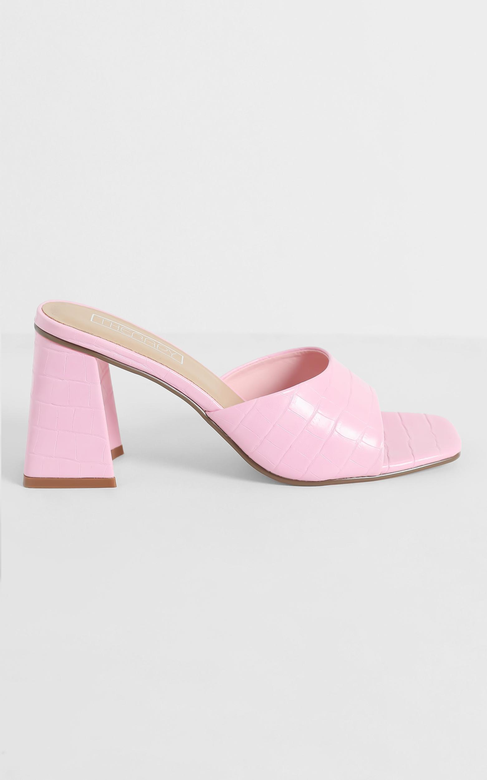Therapy - Colina Heels in Pink - 5, Pink, hi-res image number null