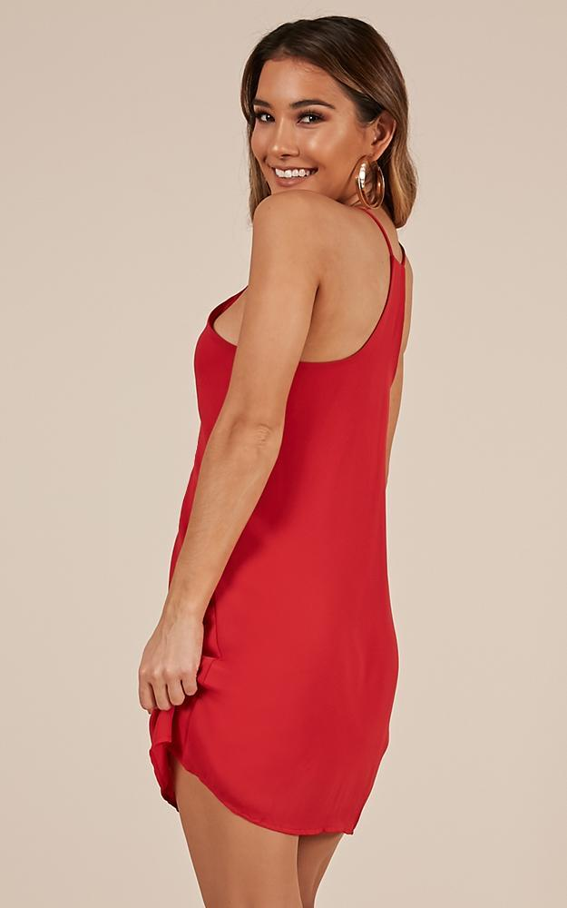 Like Soda dress in red - 14 (XL), Red, hi-res image number null