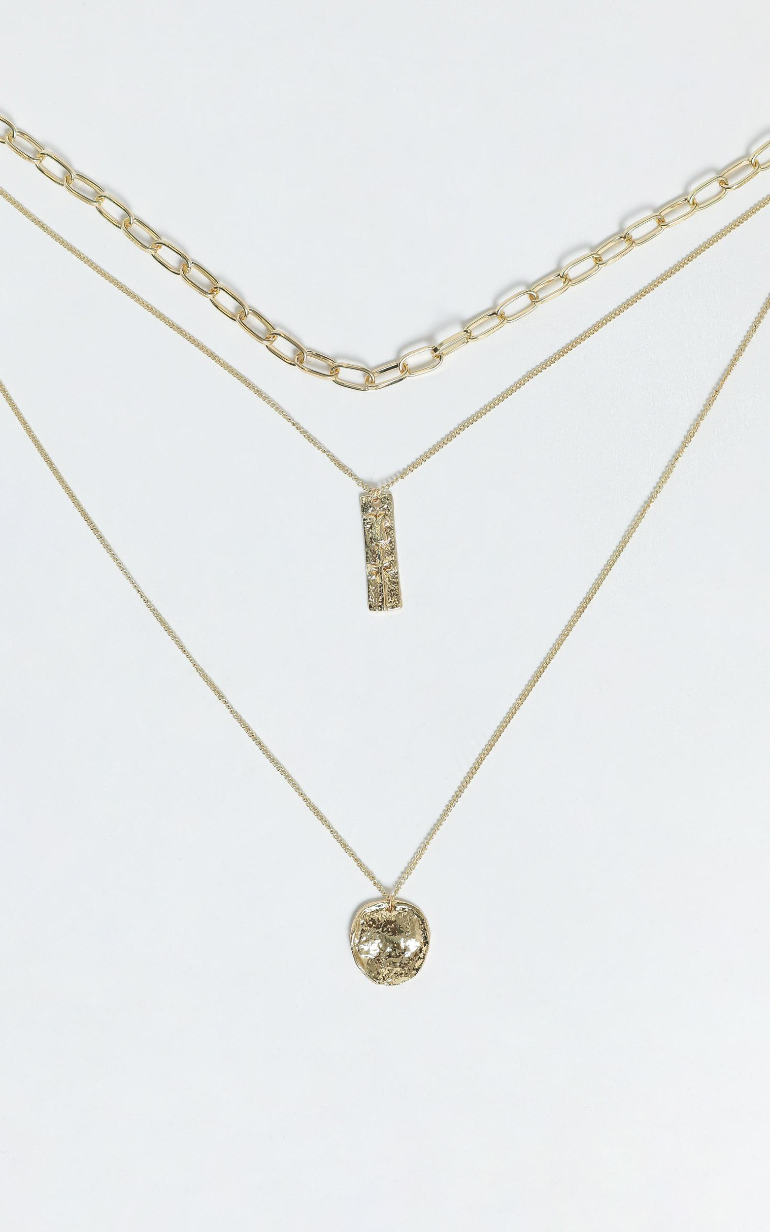 Tabitha Necklace in Gold, , hi-res image number null
