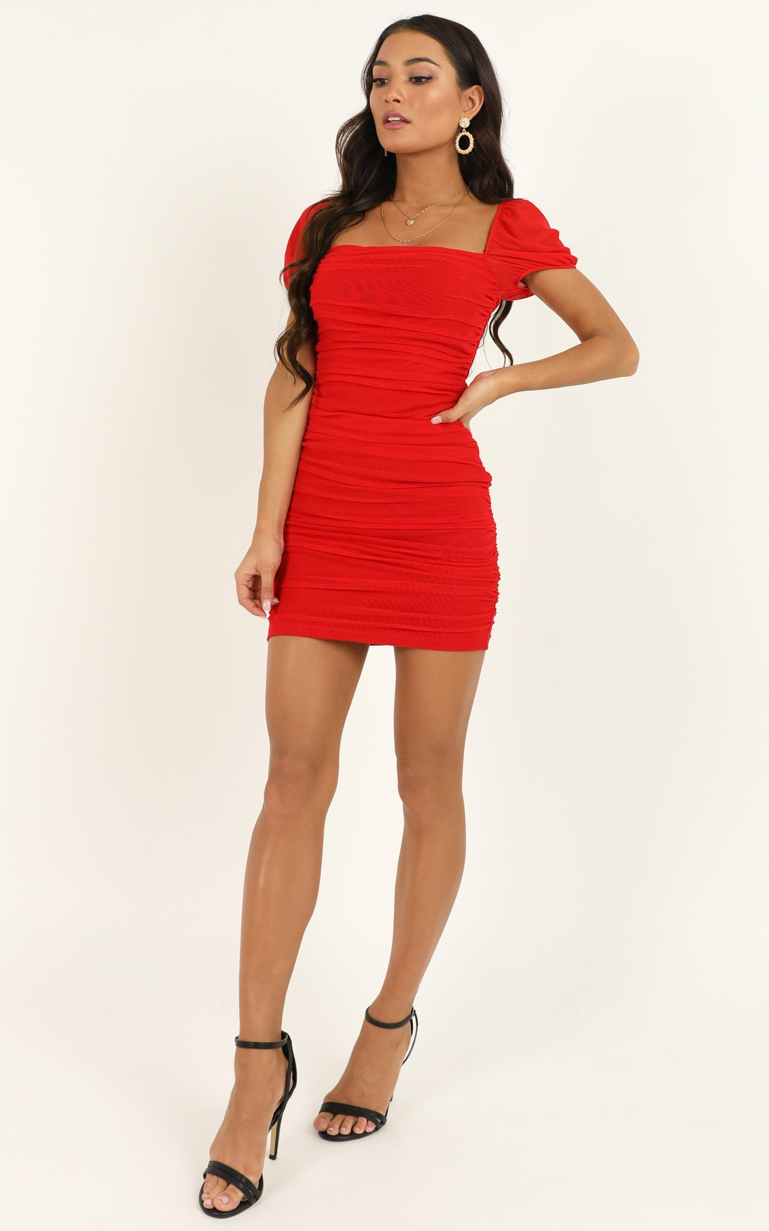 Im All Yours Dress In Red - 14 (XL), Red, hi-res image number null