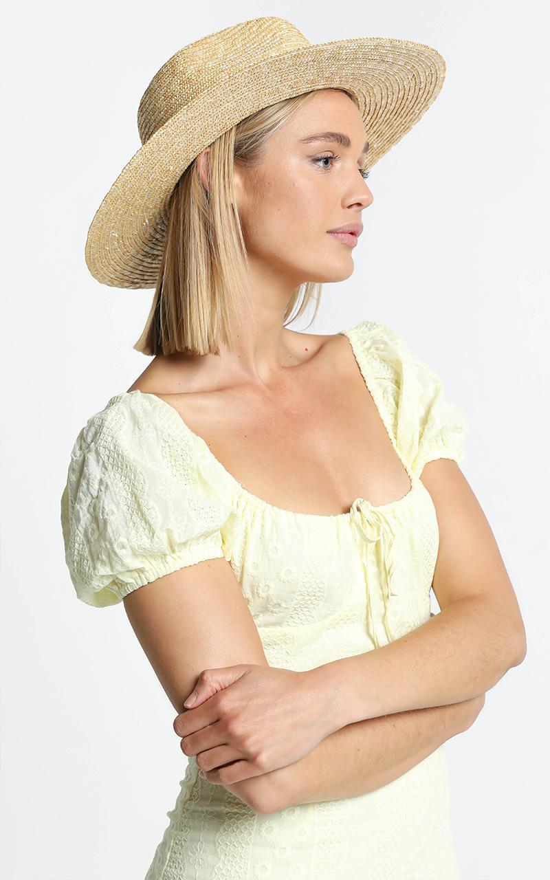 Abella Straw Hat , , hi-res image number null