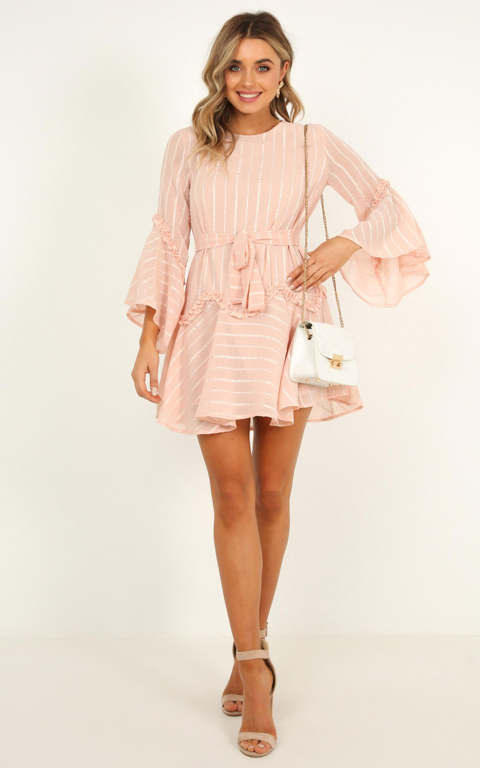 Slow me down dress in blush - 20 (XXXXL), Blush, hi-res image number null