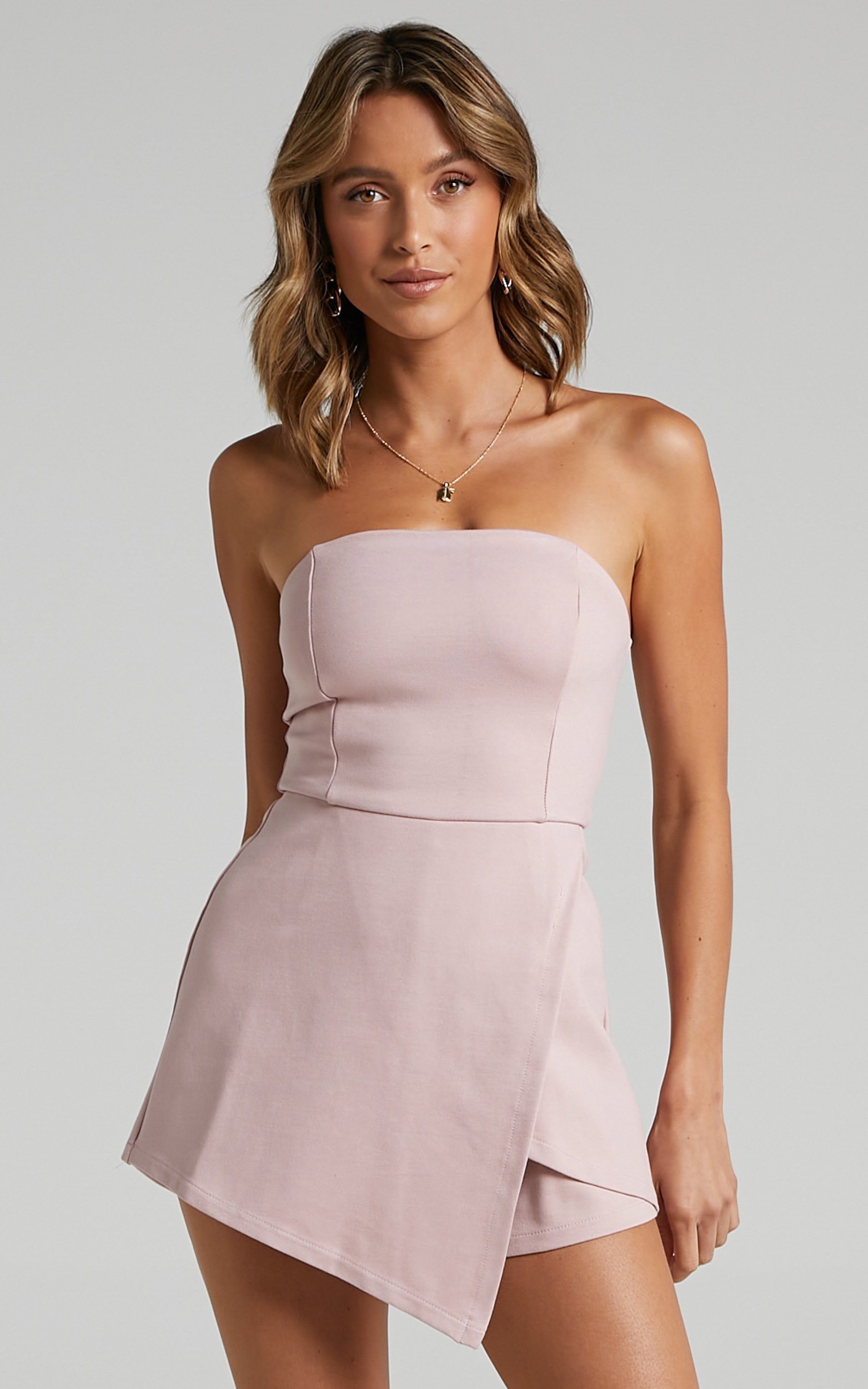 Caught My Eyes playsuit in Blush - 4 (XXS), BLU1, hi-res image number null