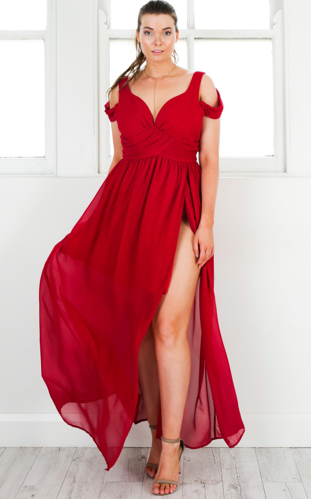 Stand Close dress in red - 6 (XS), Red, hi-res image number null