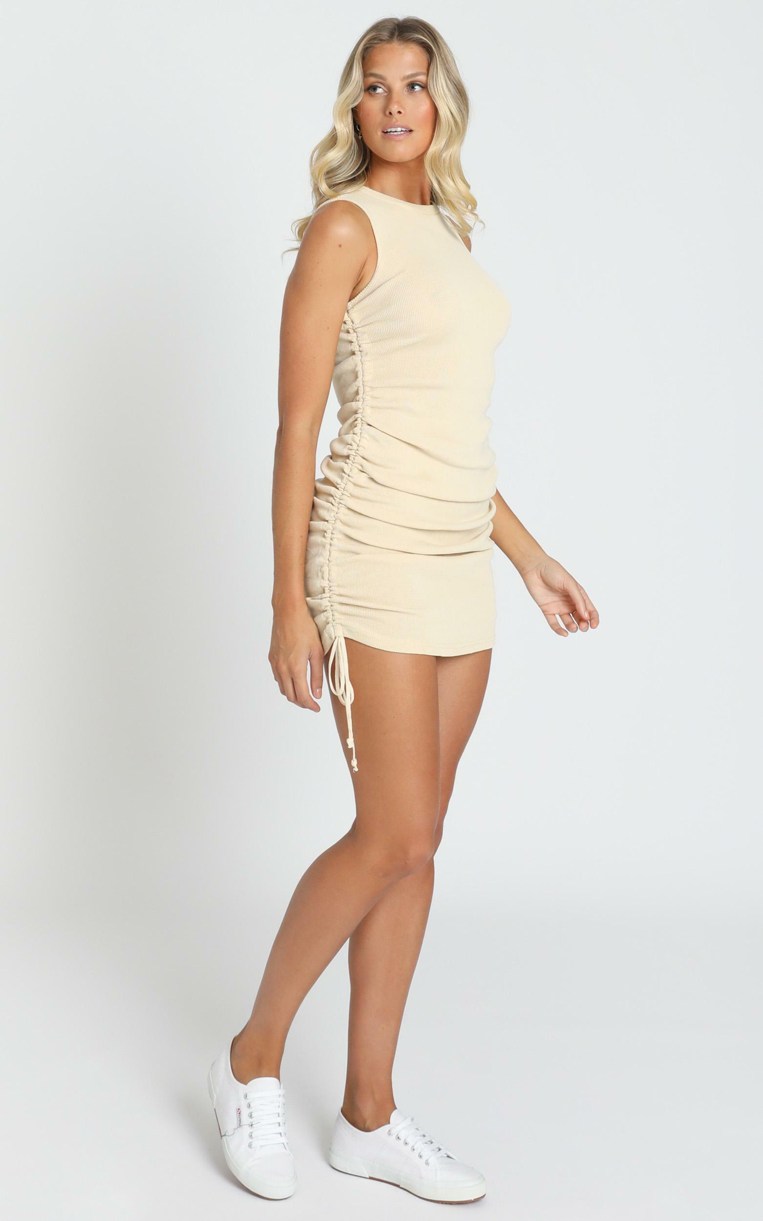 Lioness - Military Minds dress in cream - 6 (XS), Cream, hi-res image number null