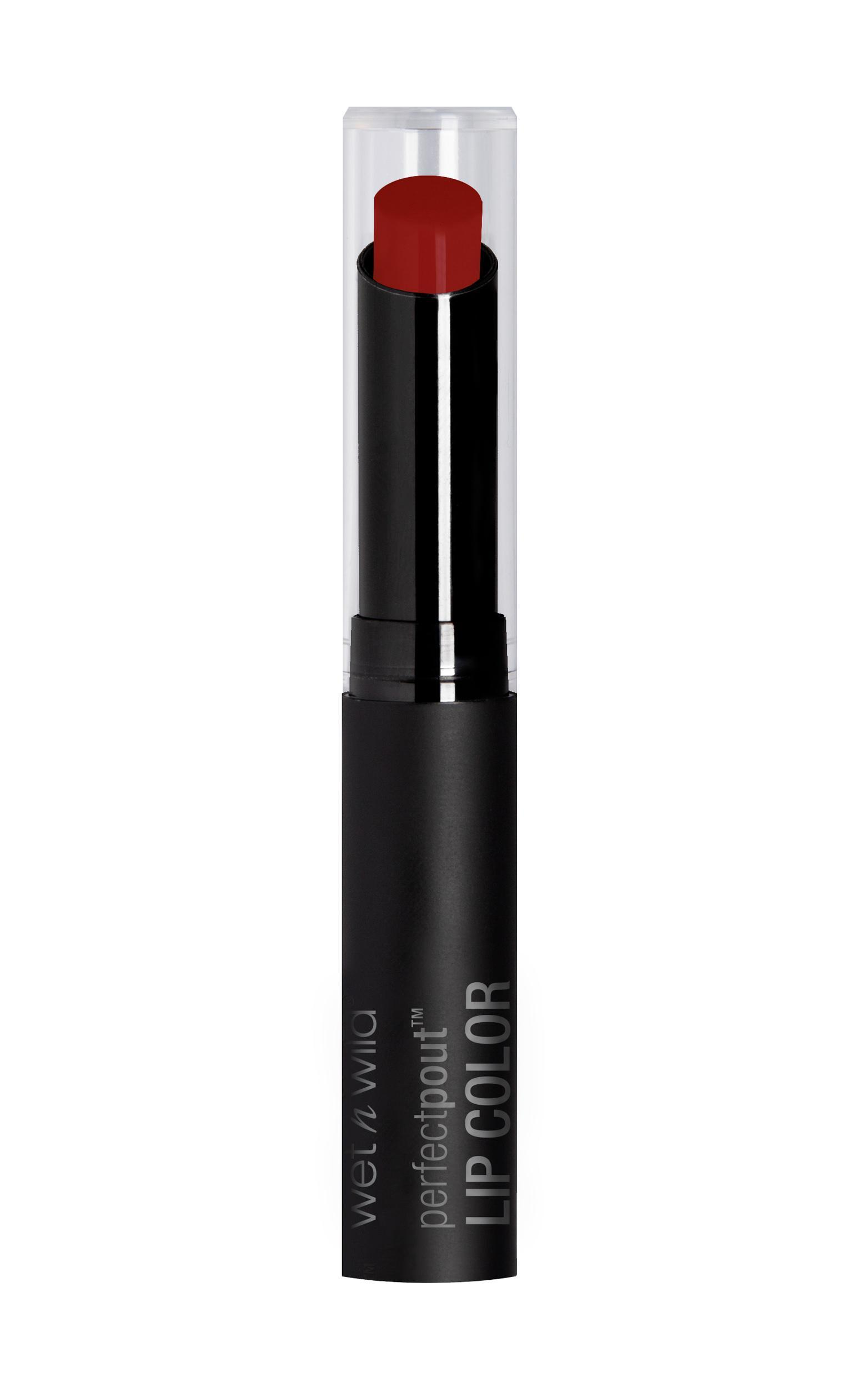 Wet N Wild - Perfect Pout Lip Color in Club Brat , Red, hi-res image number null