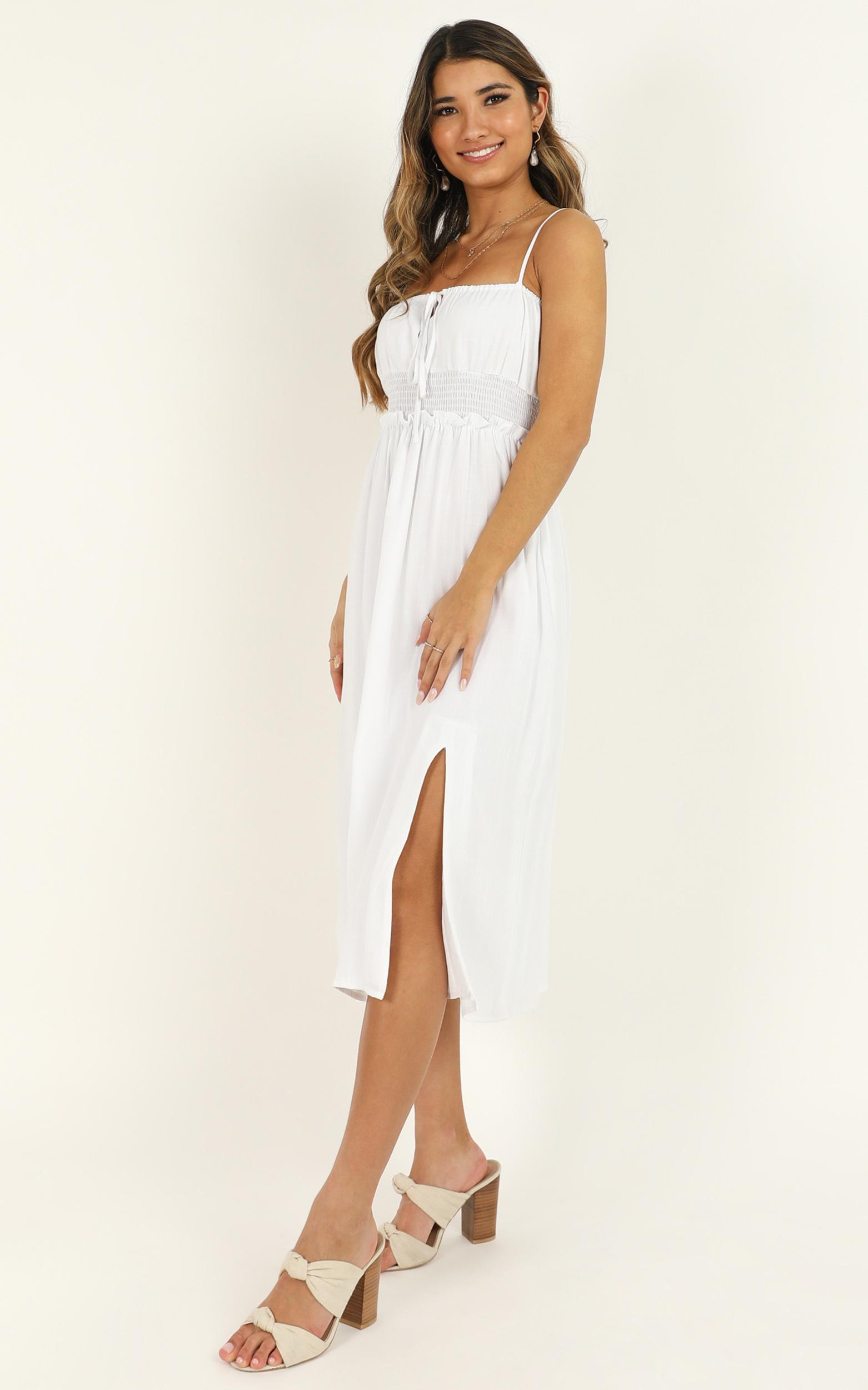 Speaking Fondly Dress in white - 20 (XXXXL), White, hi-res image number null