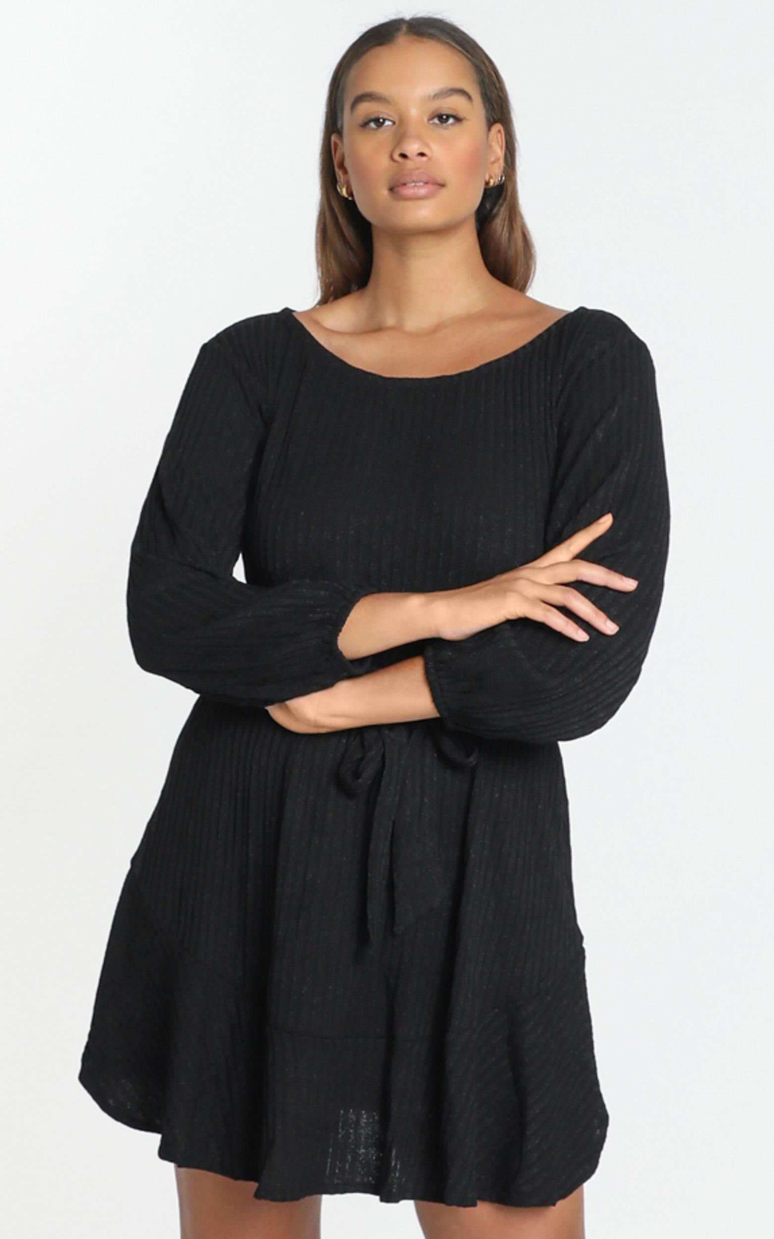 Total Relaxation Dress in black - 6 (XS), Black, hi-res image number null