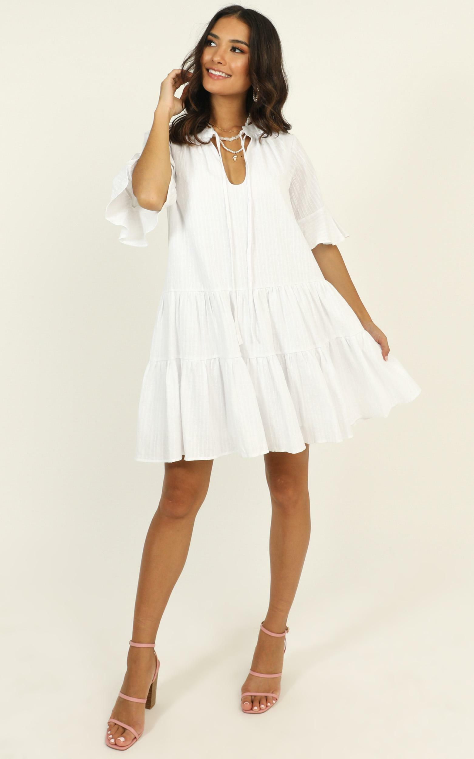 Best Memories dress in white - 14 (XL), White, hi-res image number null