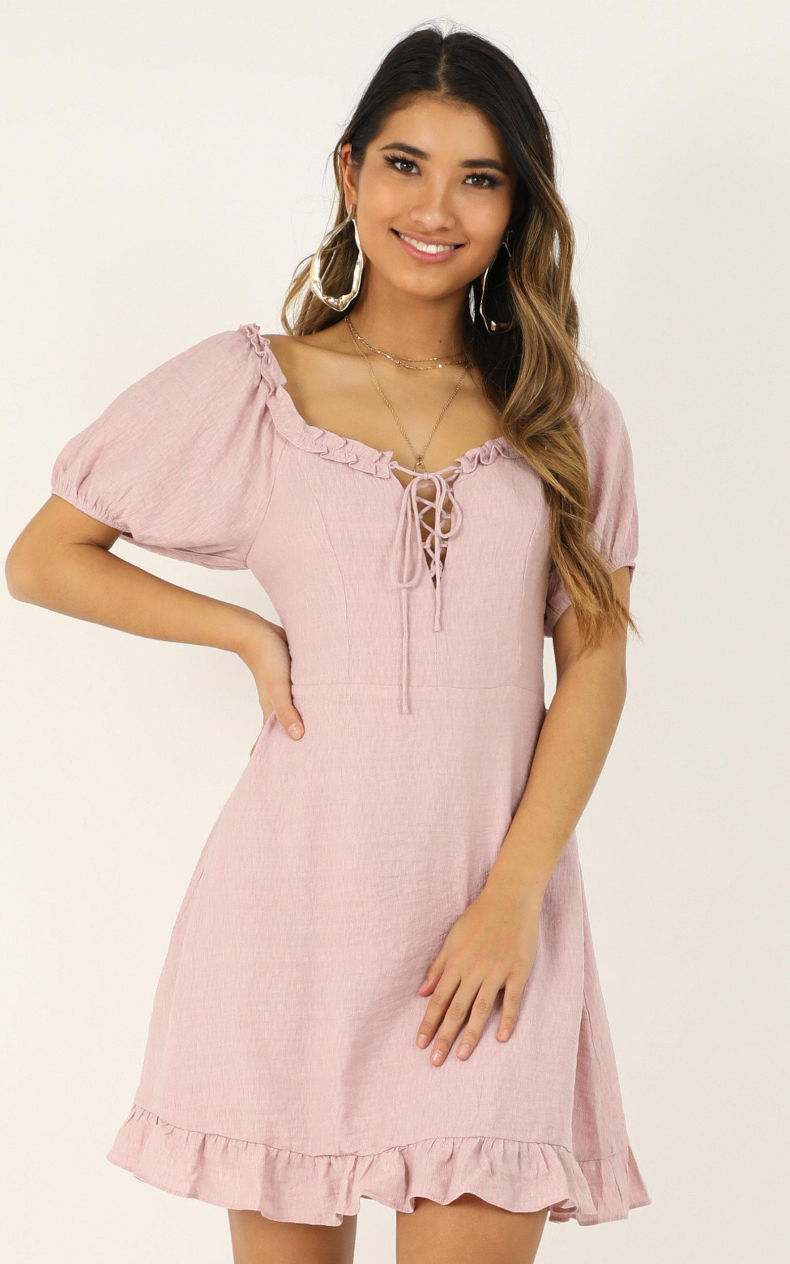 This time its real dress in blush - 12 (L), Blush, hi-res image number null