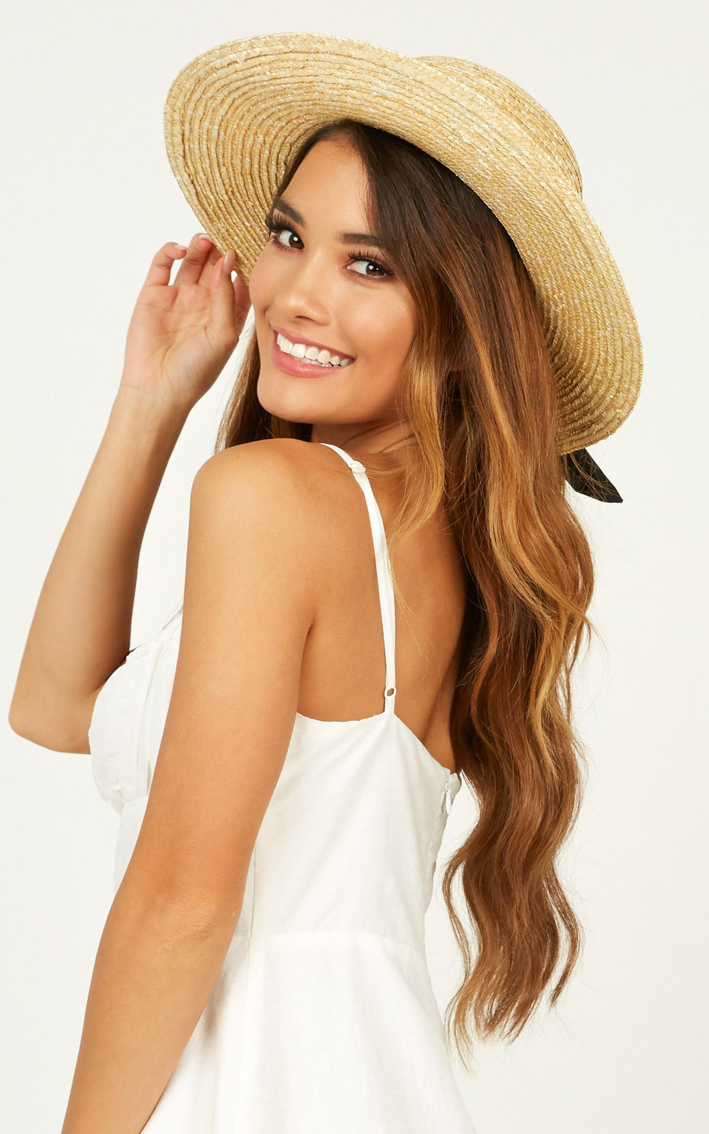 Sail Away hat in navy and natural, BRN2, hi-res image number null