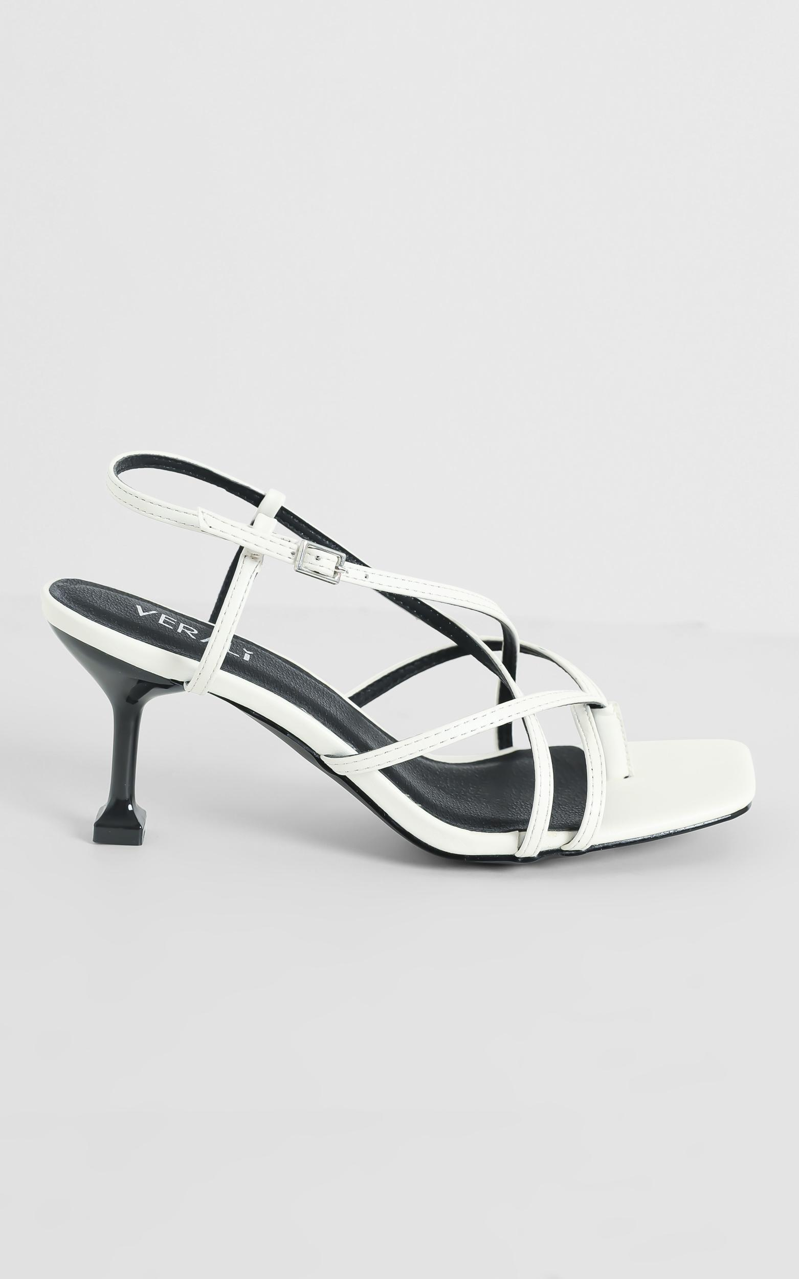 Verali - Neve Heels in White - 5, White, hi-res image number null