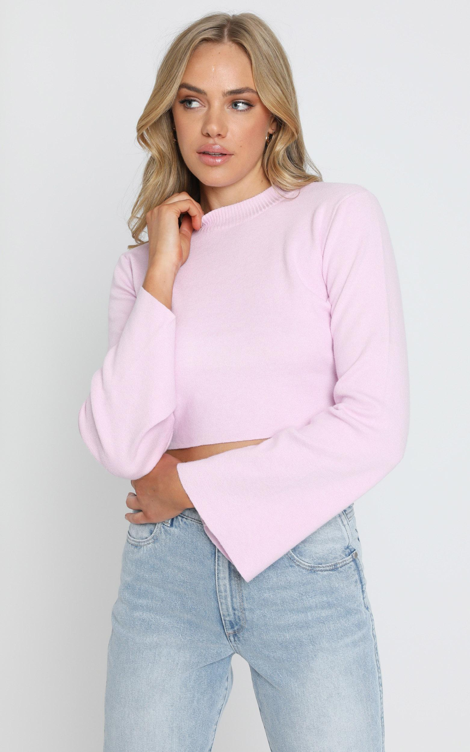 Endless Memories Knit Jumper In Pink - 8 (S), Pink, hi-res image number null