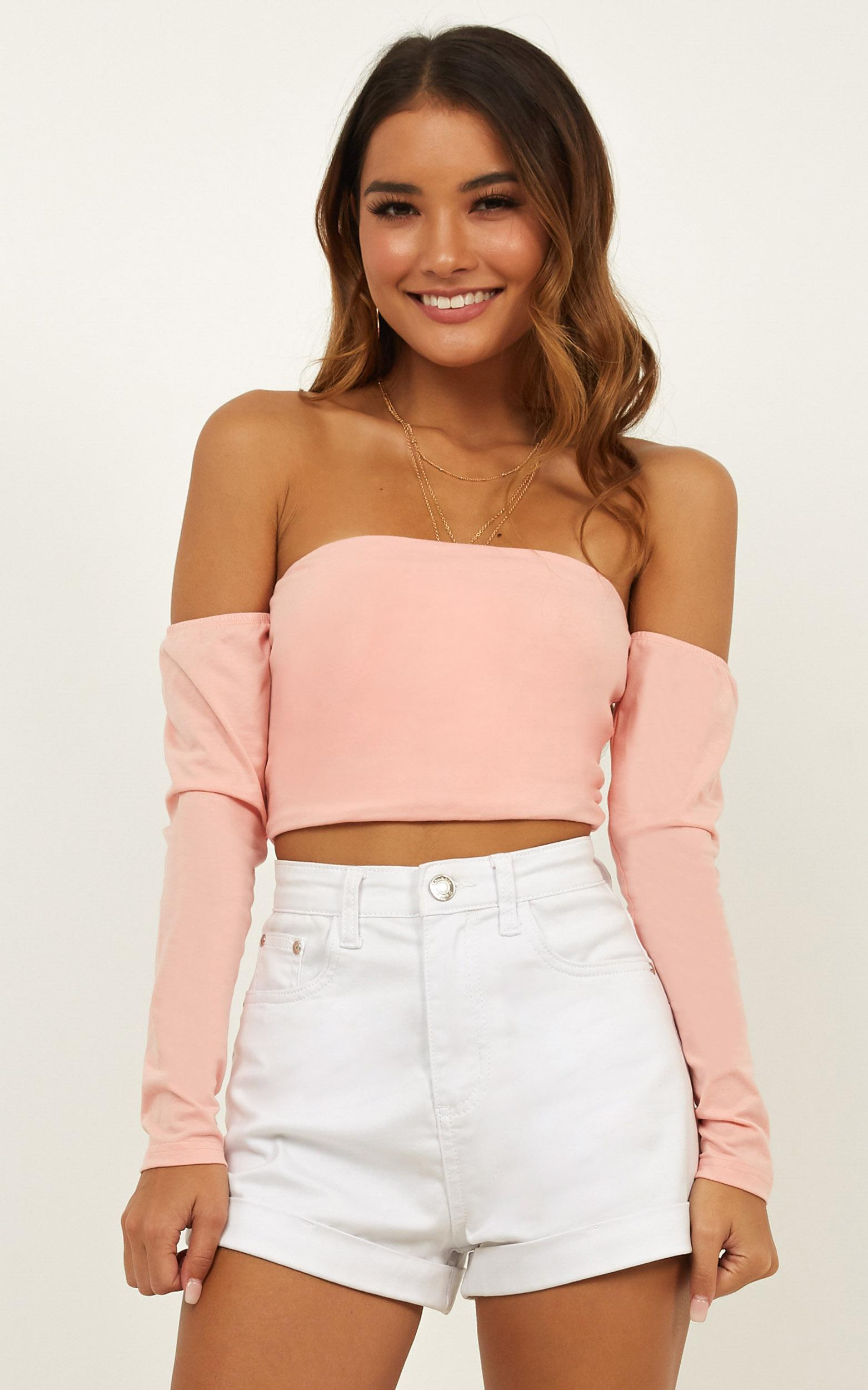 You Deserve Better Top in blush - 16 (XXL), Blush, hi-res image number null