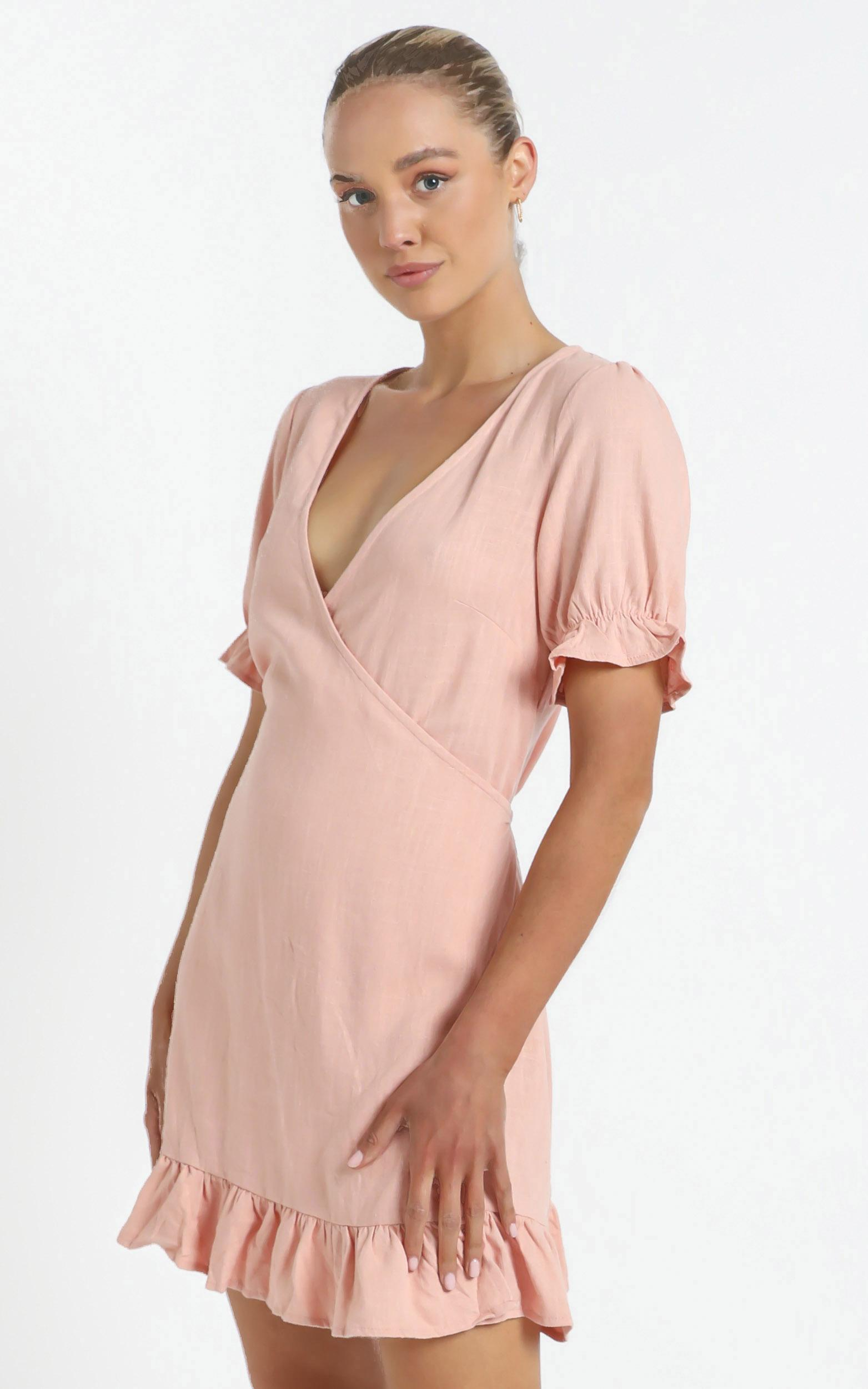 Marlo Dress in Dusty Rose - 12 (L), Pink, hi-res image number null