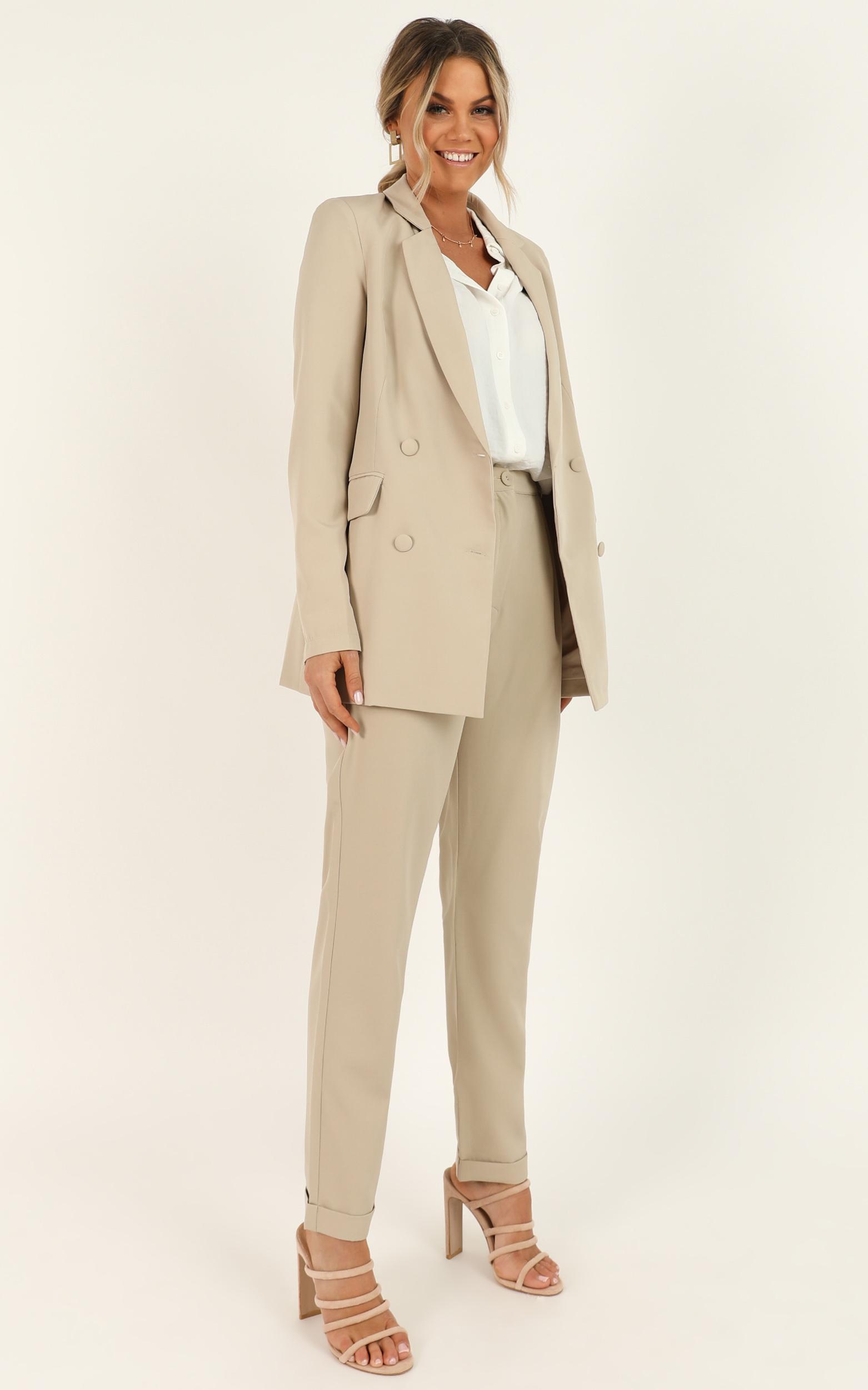 Corporate Vision Blazer in beige - 20 (XXXXL), Beige, hi-res image number null