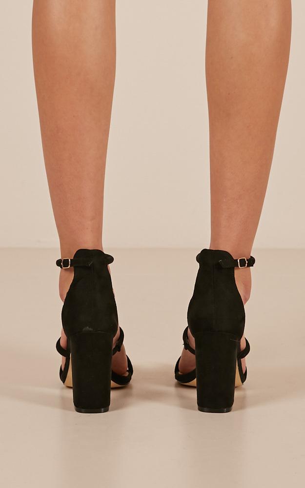 Billini - Marlie Heels in black micro - 5, Black, hi-res image number null