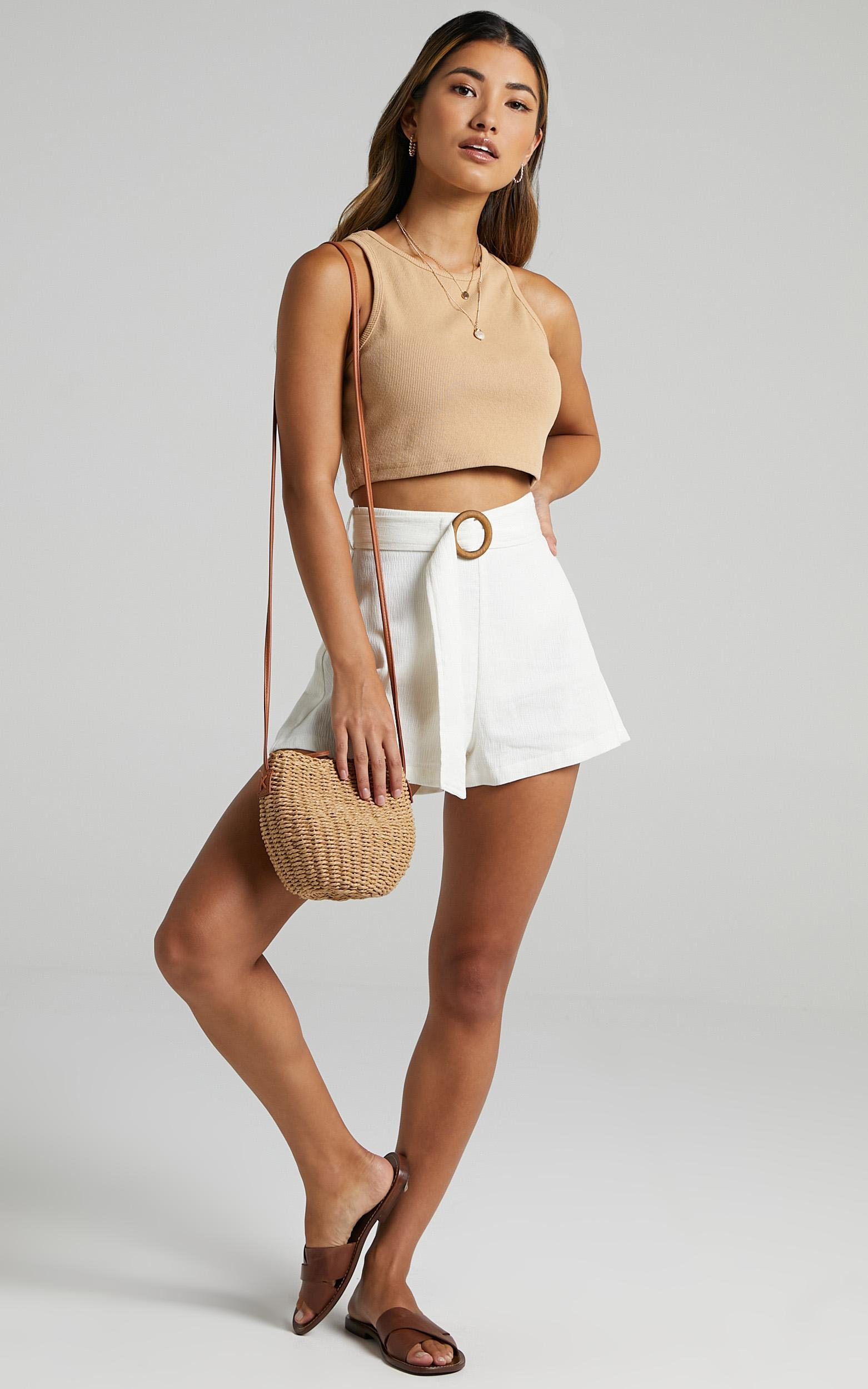 Devera Shorts in Off White - 06, WHT1, hi-res image number null