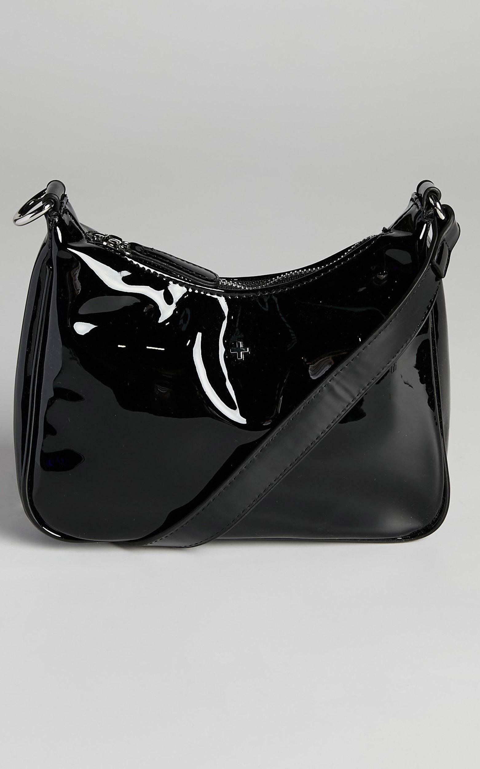 Peta and Jain - Totti Bag in Black Patent, BLK1, hi-res image number null