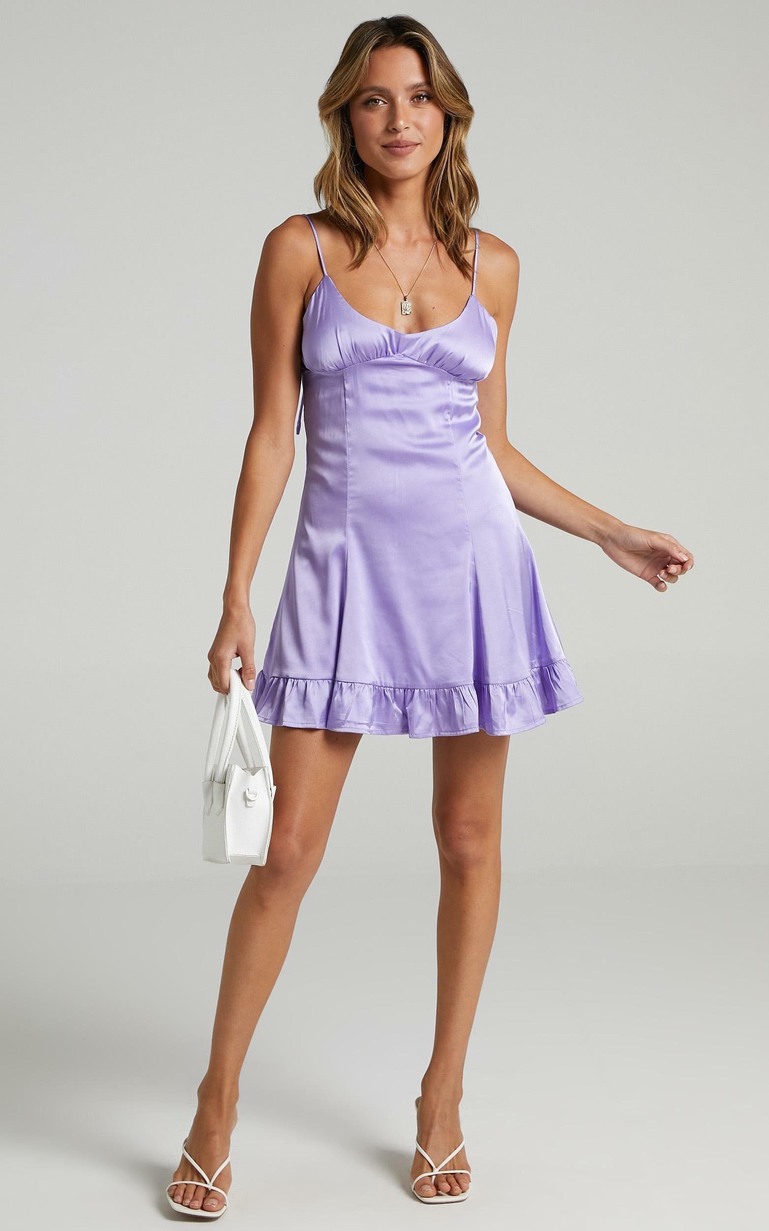 Lou Dress in Lilac - 14 (XL), Purple, hi-res image number null