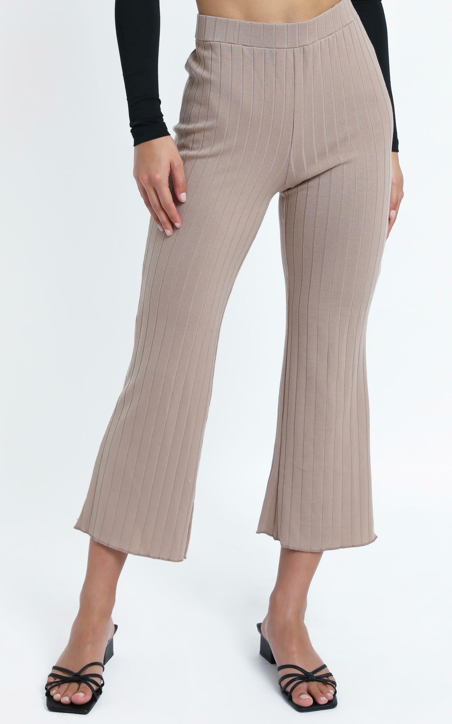 Alondra Pants in Beige - 14 (XL), Beige, hi-res image number null