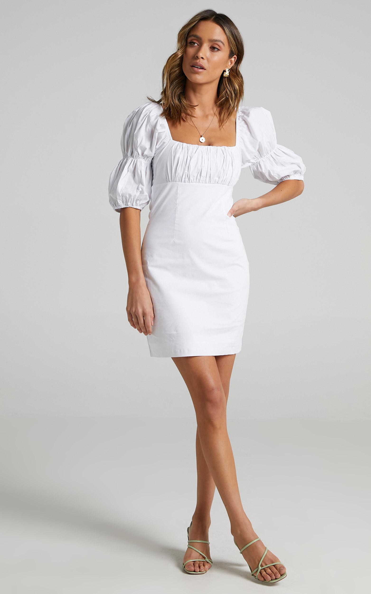 Adalira Dress in White - 06, WHT1, hi-res image number null