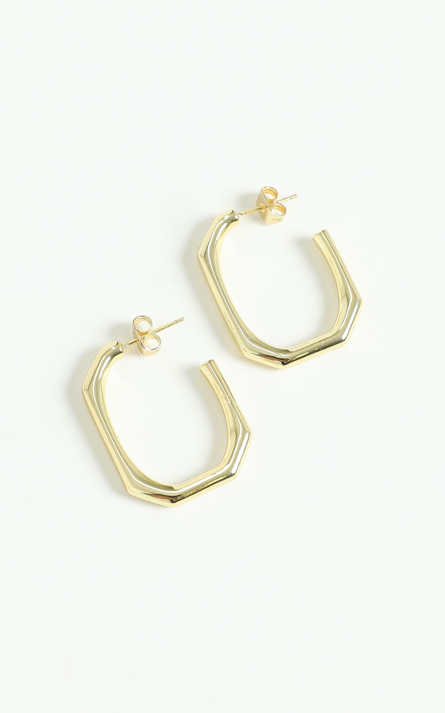 Peta And Jain - Solana Earrings in Gold, Gold, hi-res image number null