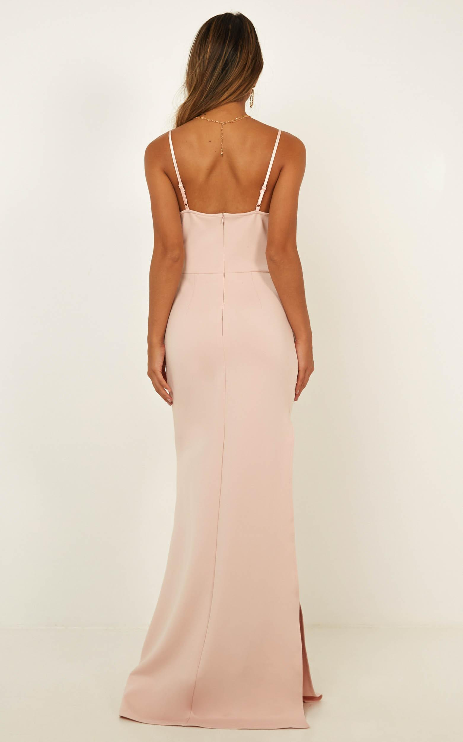 Linking Love Maxi Dress In Blush - 4 (XXS), Blush, hi-res image number null