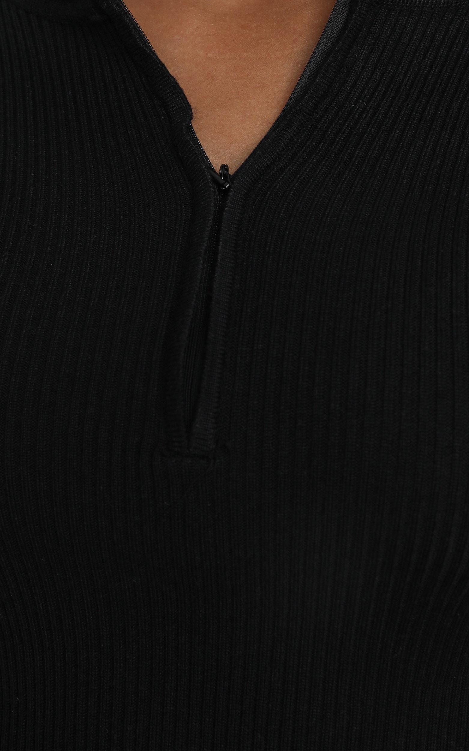 Malone Dress in Black - 12 (L), Black, hi-res image number null