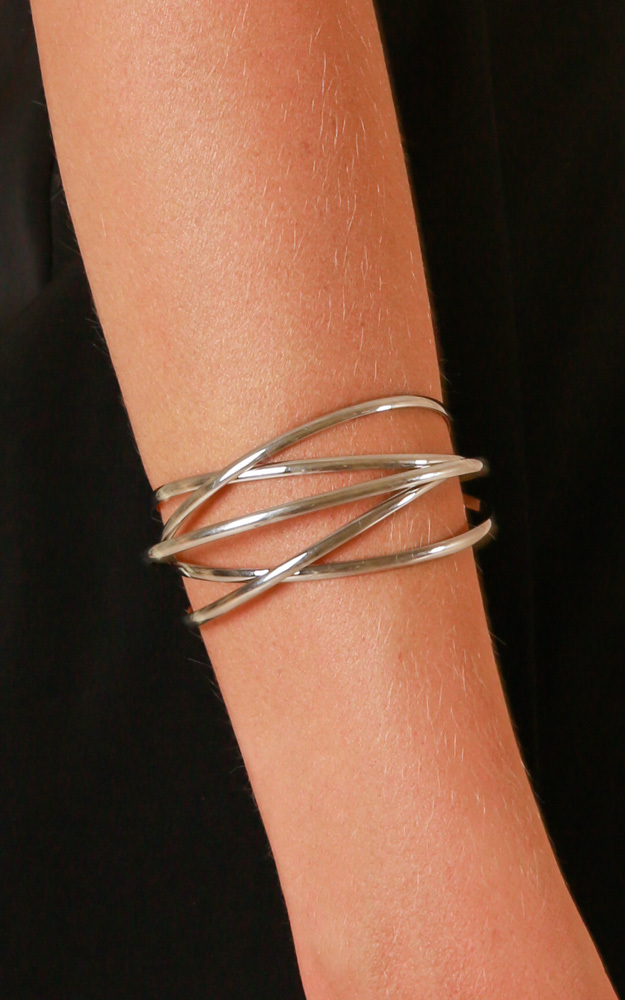 Good Together bangle in silver, Silver, hi-res image number null