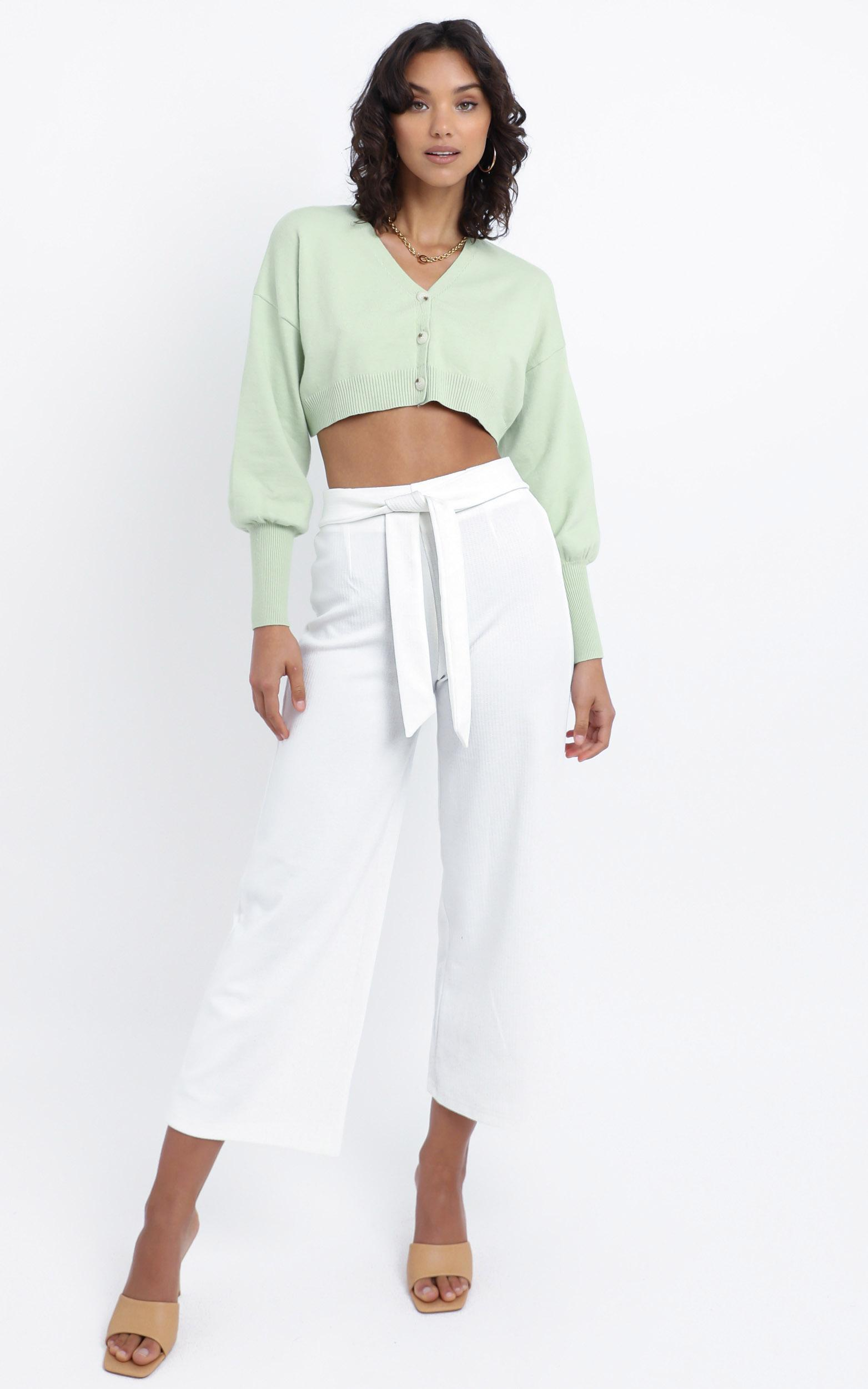 Ezmae Pants in White - 12 (L), White, hi-res image number null