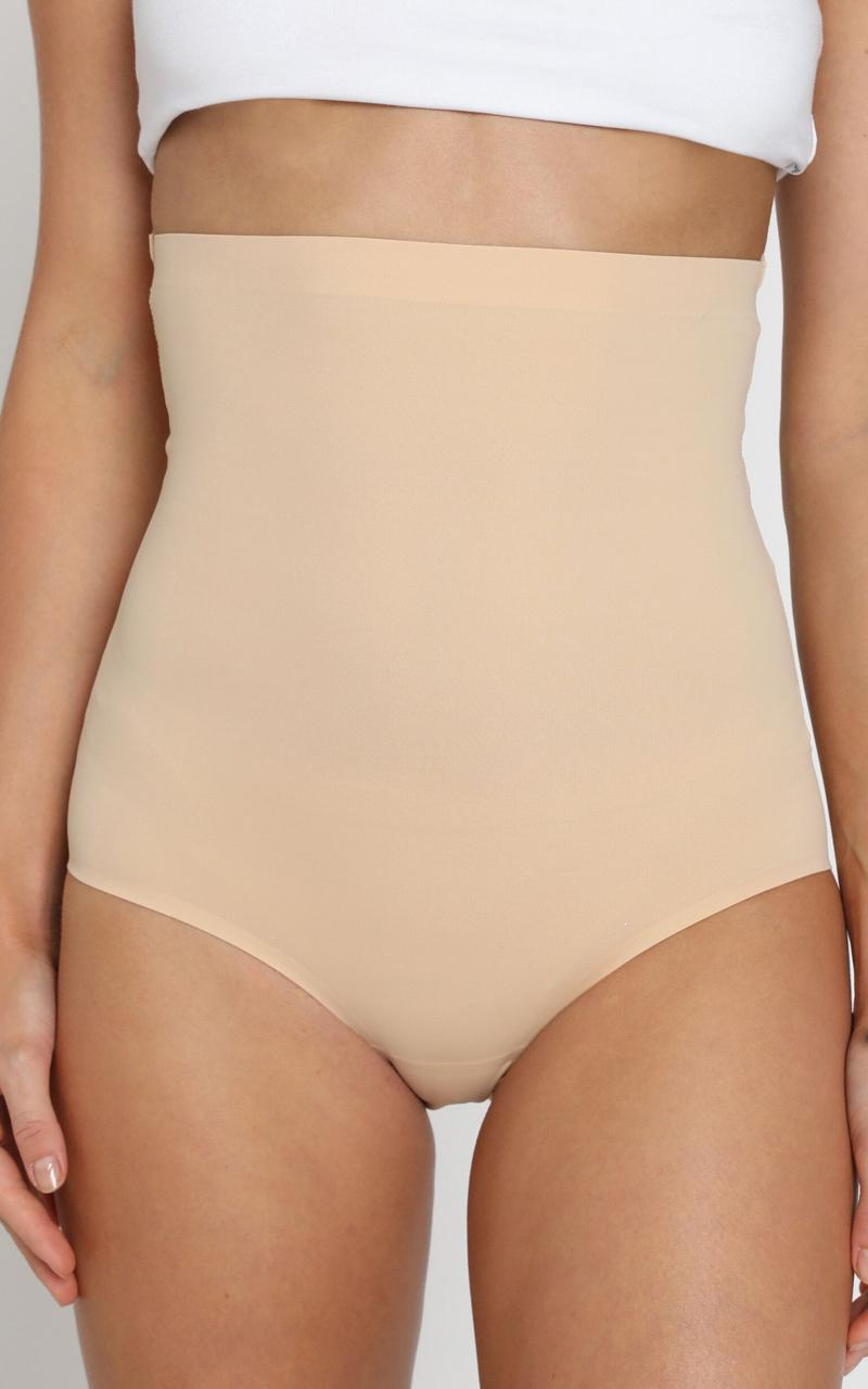 Seamless Shaping Brief - Light Control in nude - S, Beige, hi-res image number null