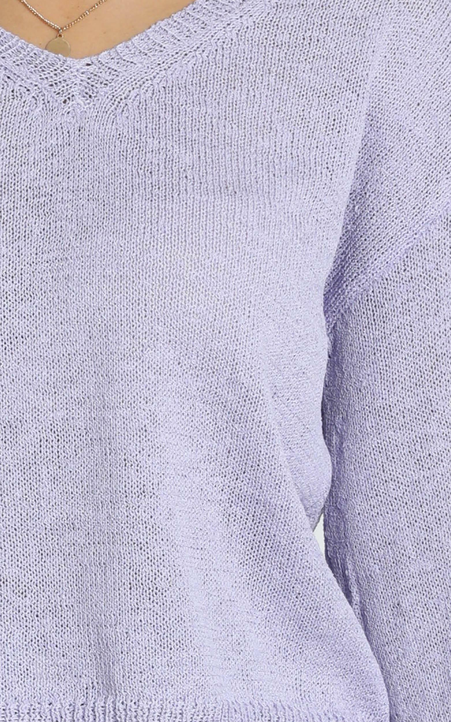 My Signature Knit in lilac - 20 (XXXXL), Purple, hi-res image number null