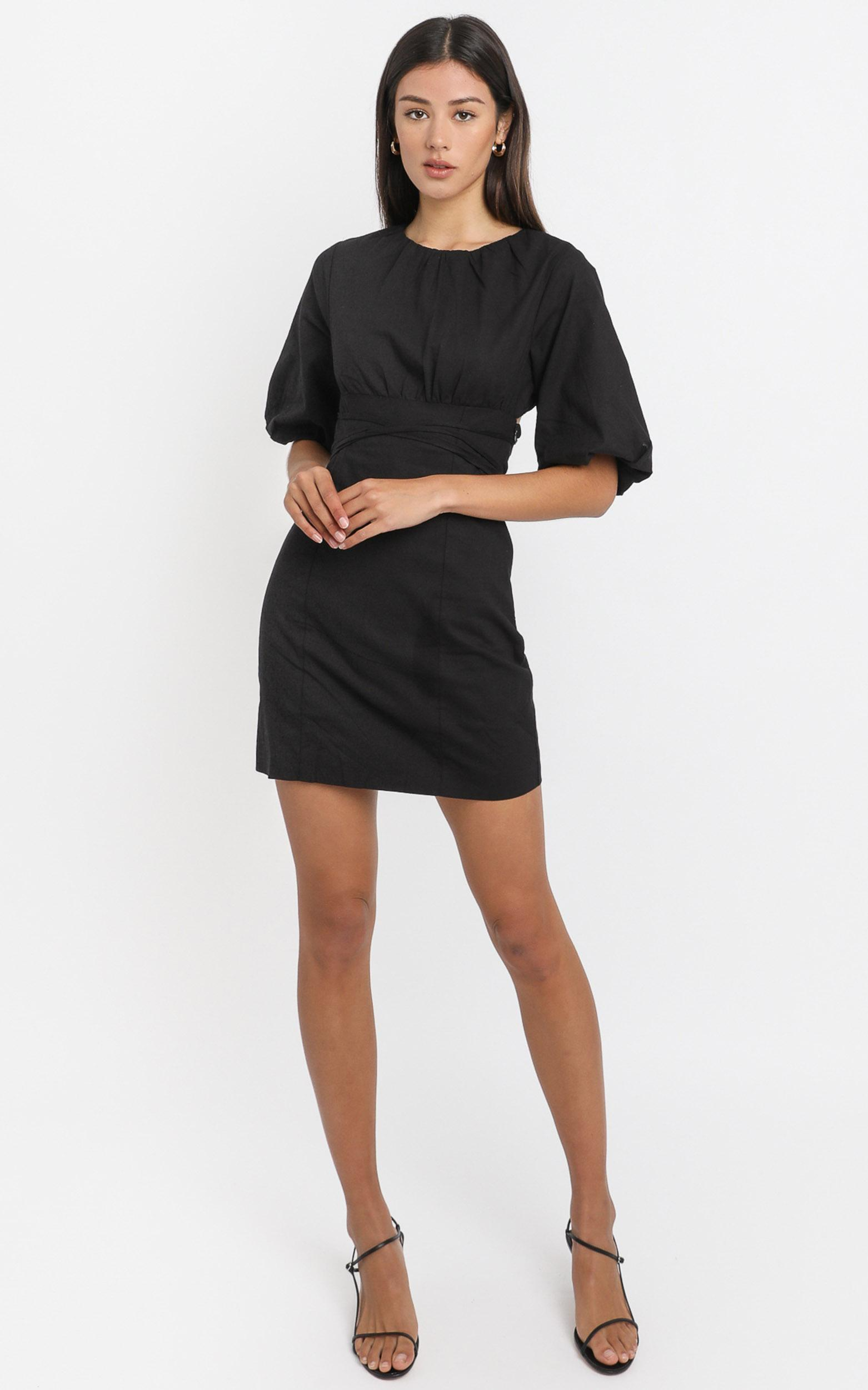 Daydreaming dress in black - 6 (XS), Black, hi-res image number null