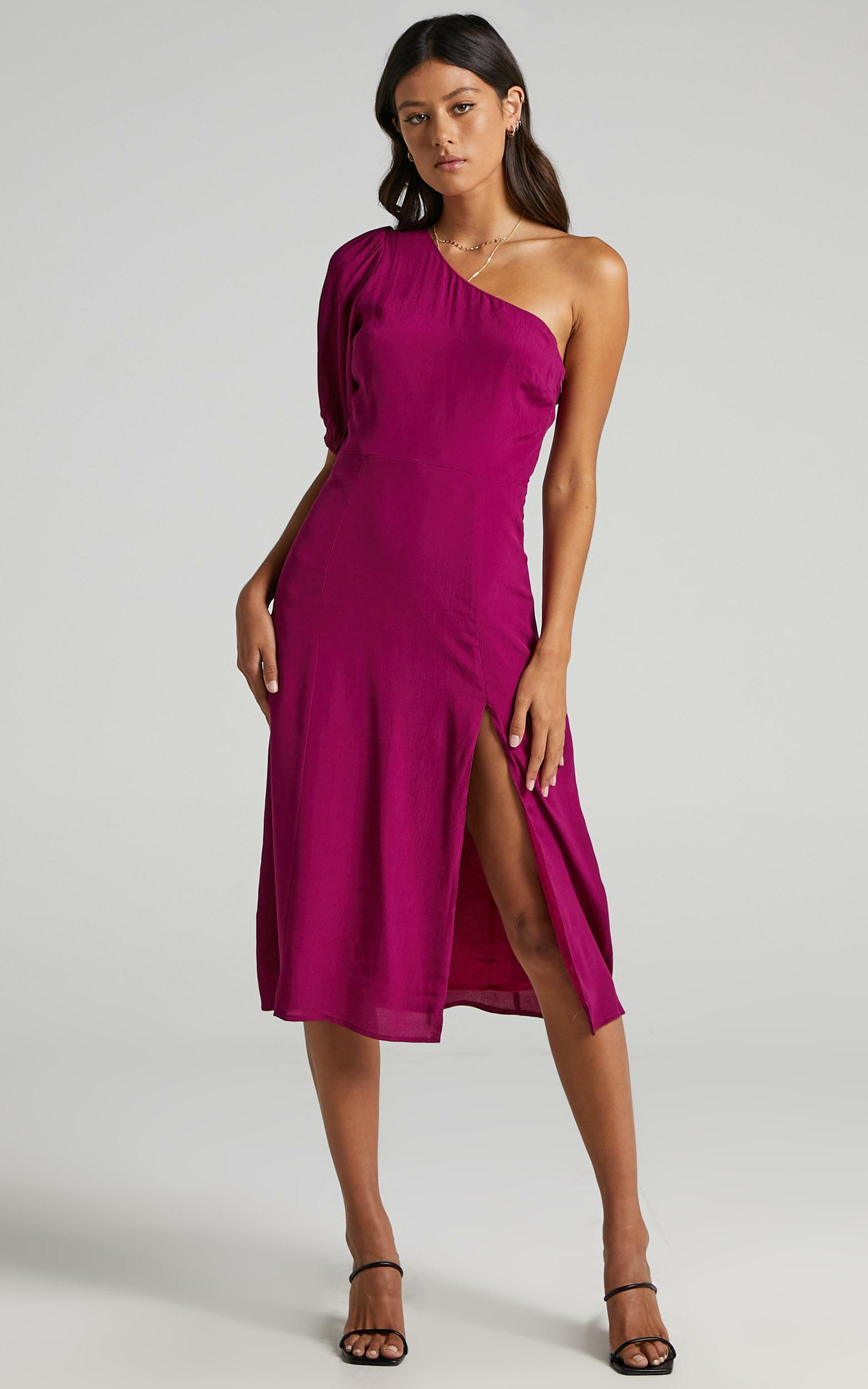 Tatiana Dress in Mulberry - 6 (XS), Purple, hi-res image number null