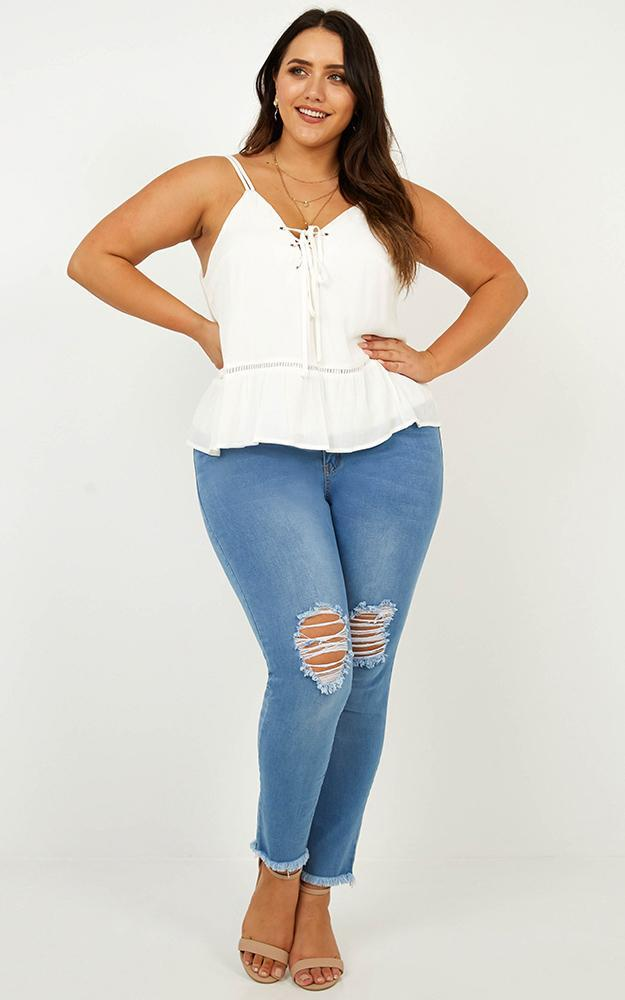 In The Loop Top in White - 18 (XXXL), White, hi-res image number null