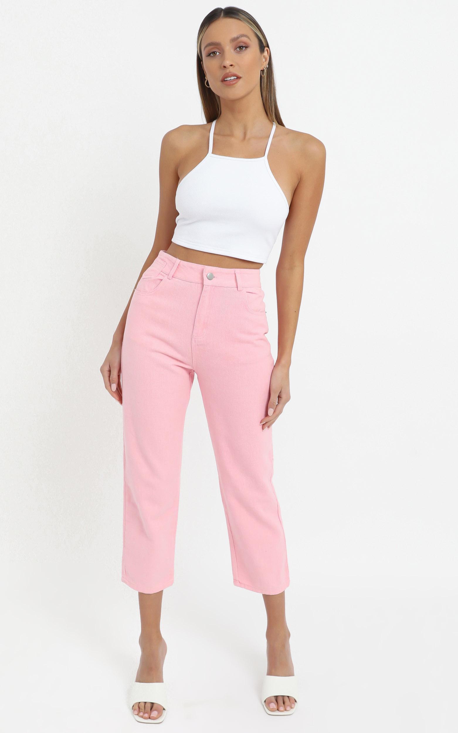 Elisa Jeans in  Pink - 12 (L), Pink, hi-res image number null
