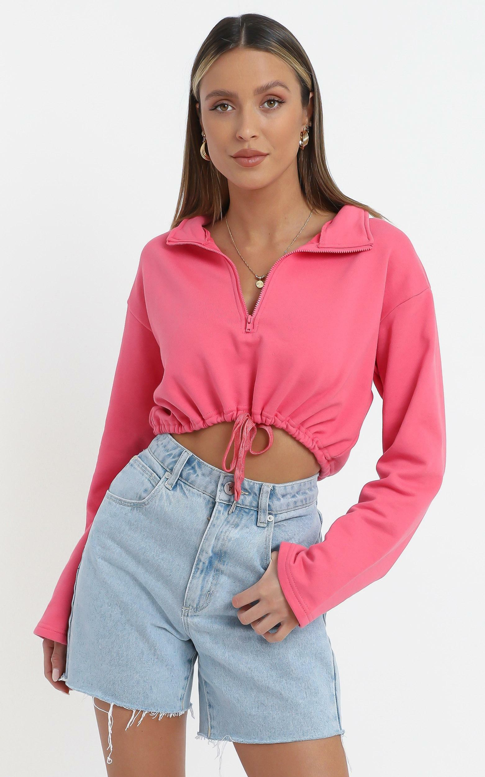 Justice Top in Watermelon - 14 (XL), PNK1, hi-res image number null