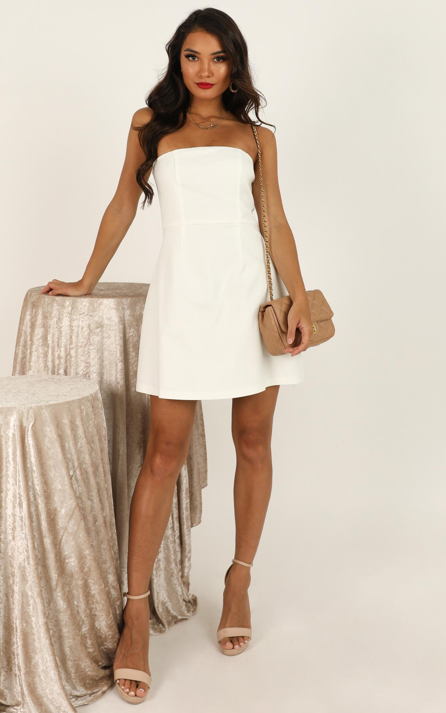Cover Star Dress in white - 18 (XXXL), White, hi-res image number null