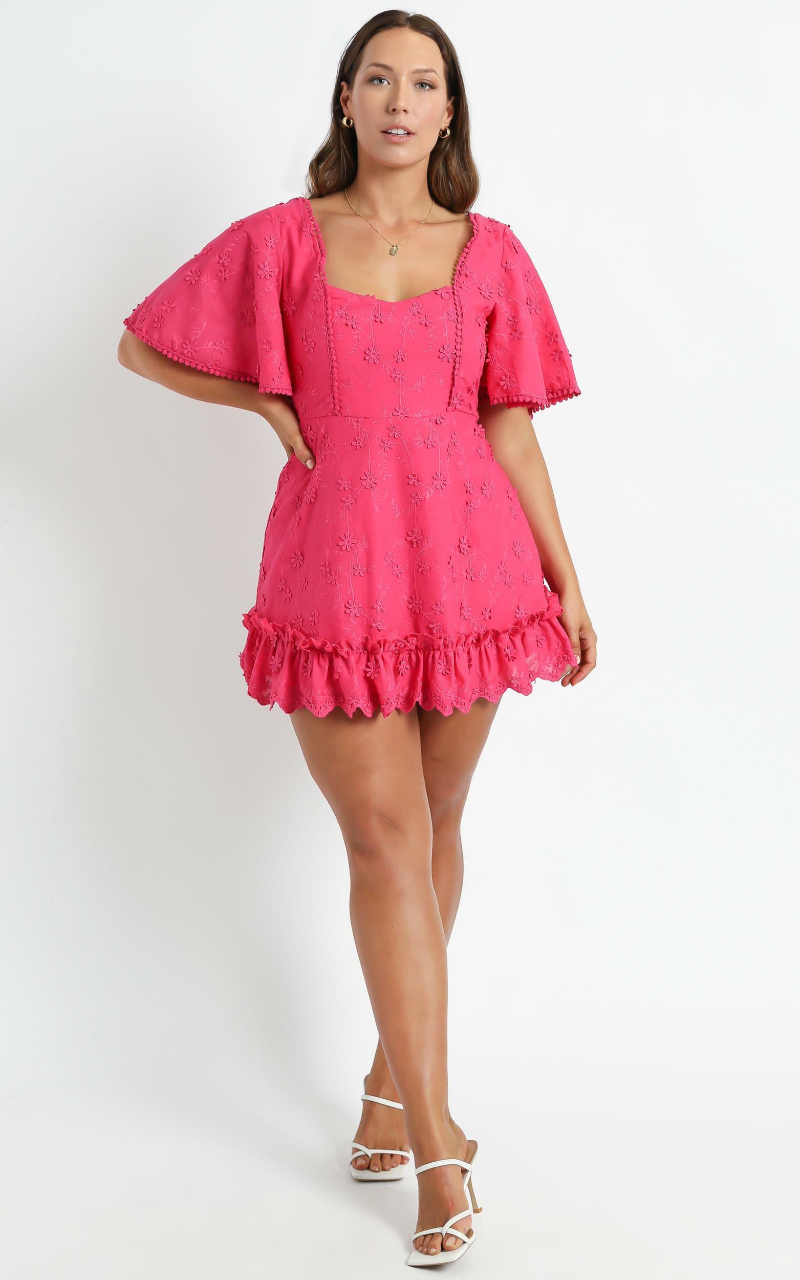 Fancy A Spritz Dress in Hot Pink - 04, PNK3, hi-res image number null