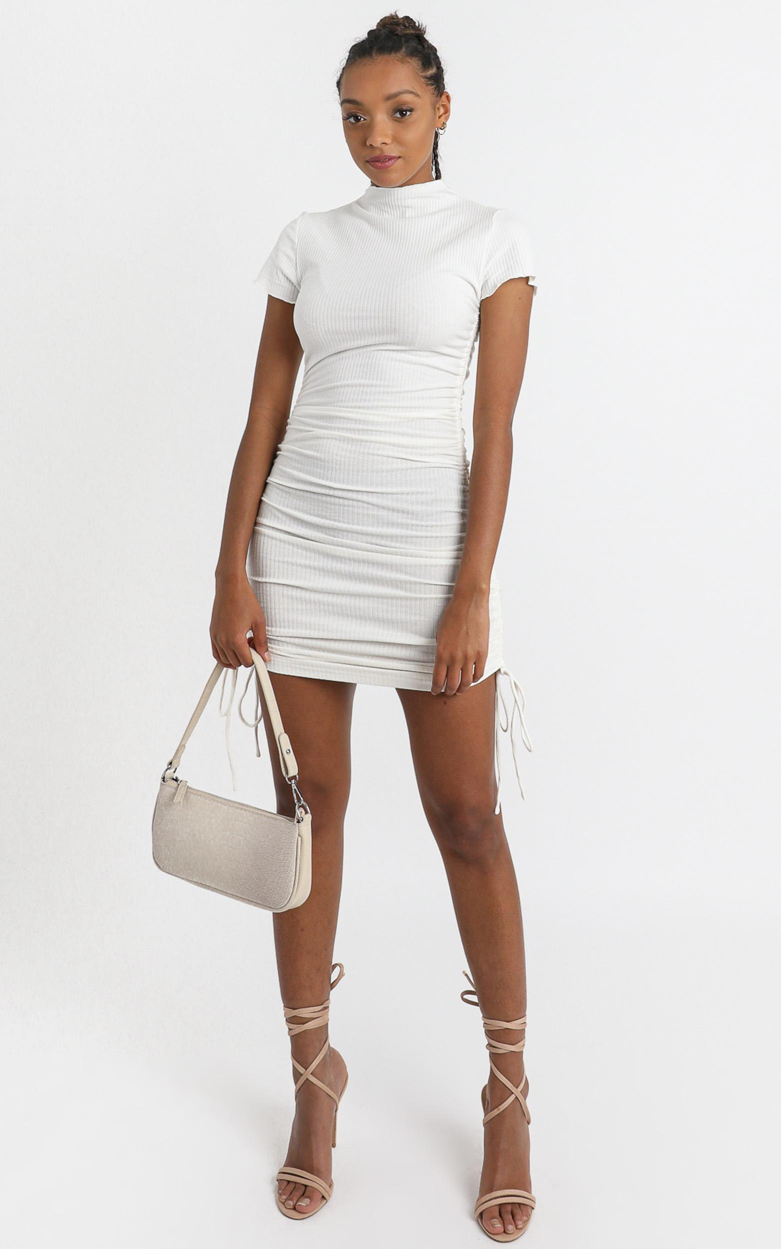 Dalia Dress in White - 6 (XS), White, hi-res image number null