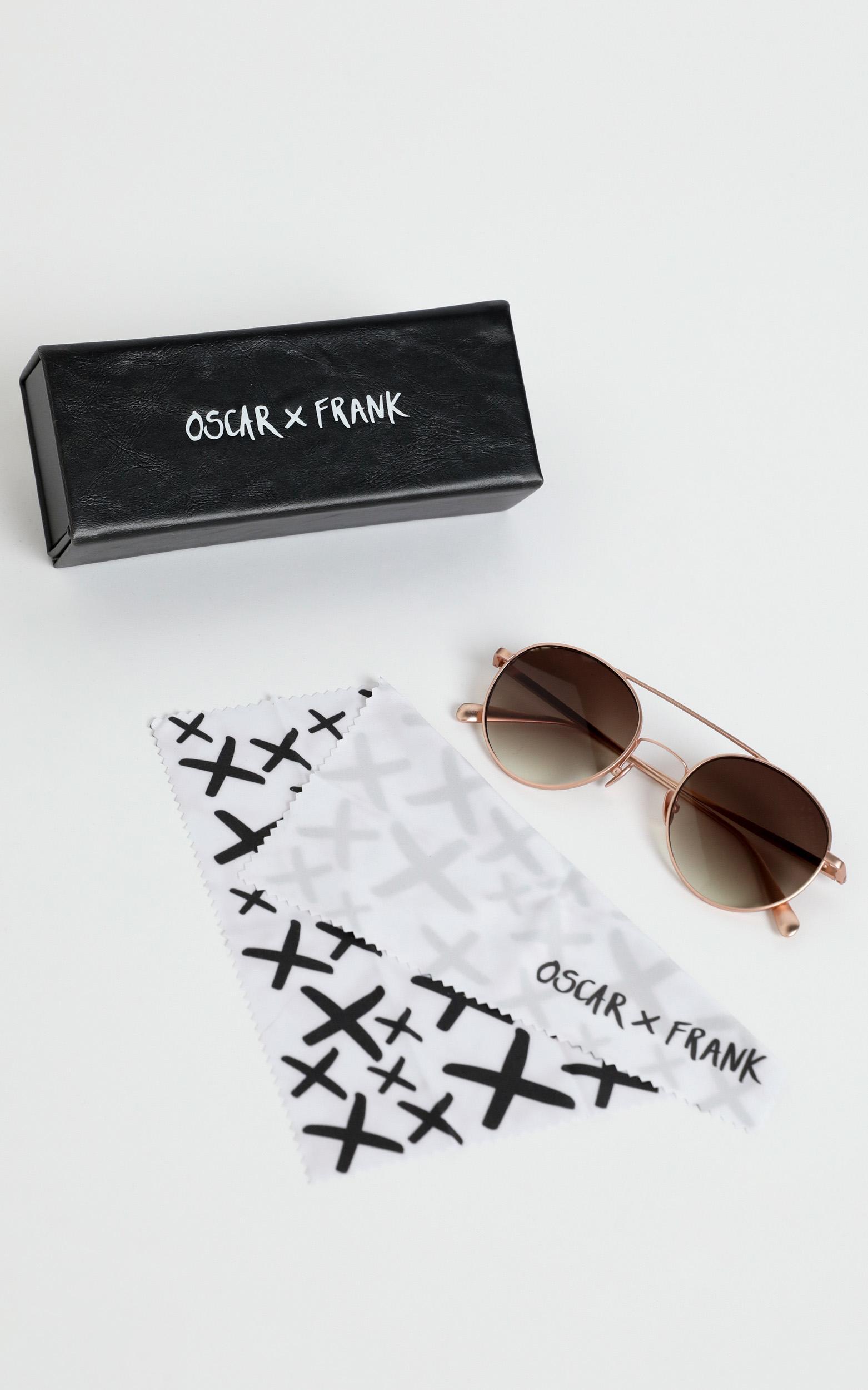 Oscar & Frank - Langkawi 2.0 Sunglasses in Rose Gold, Rose Gold, hi-res image number null