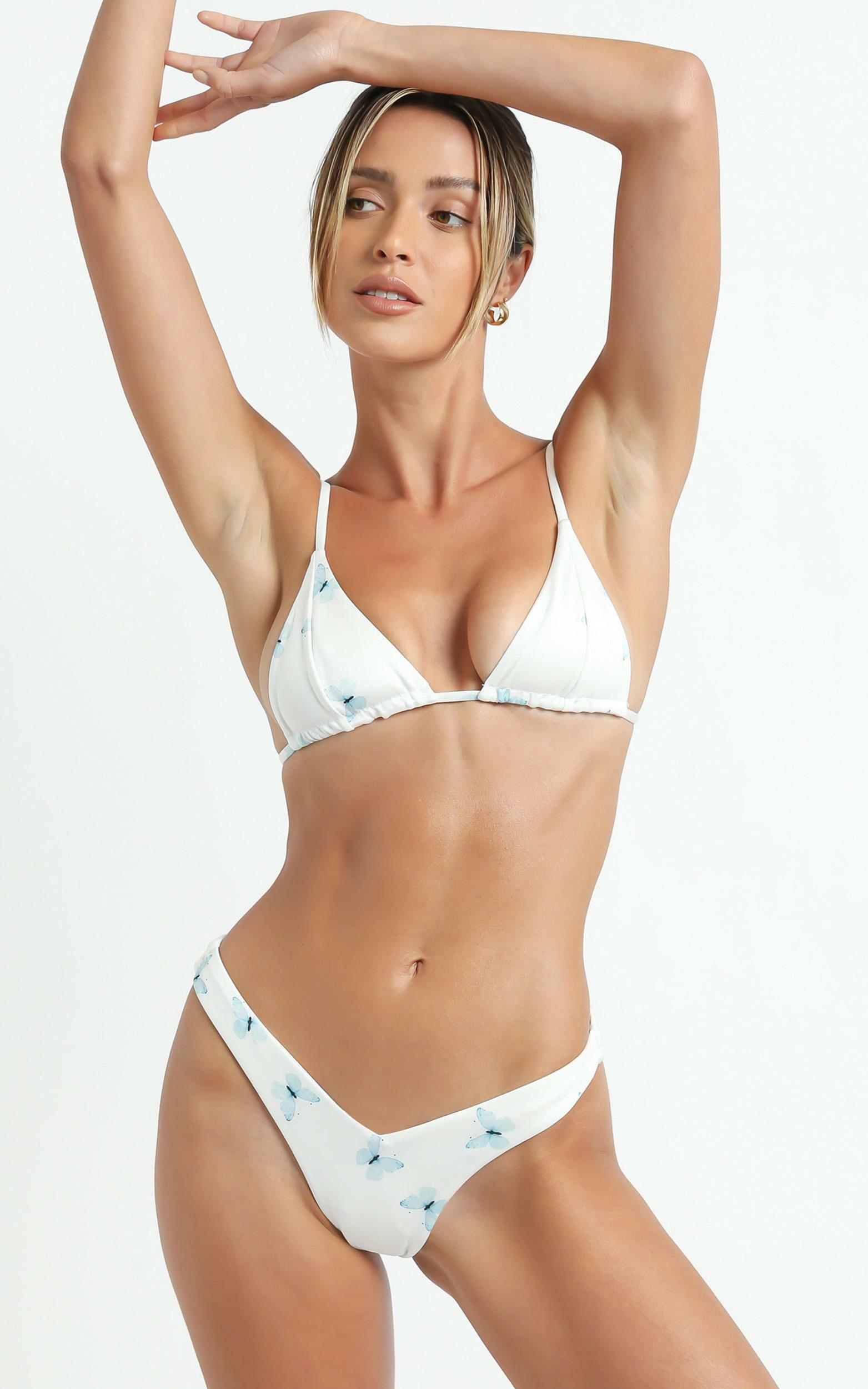 Lioness - The Delilah Bikini in Butterfly - XS, WHT1, hi-res image number null