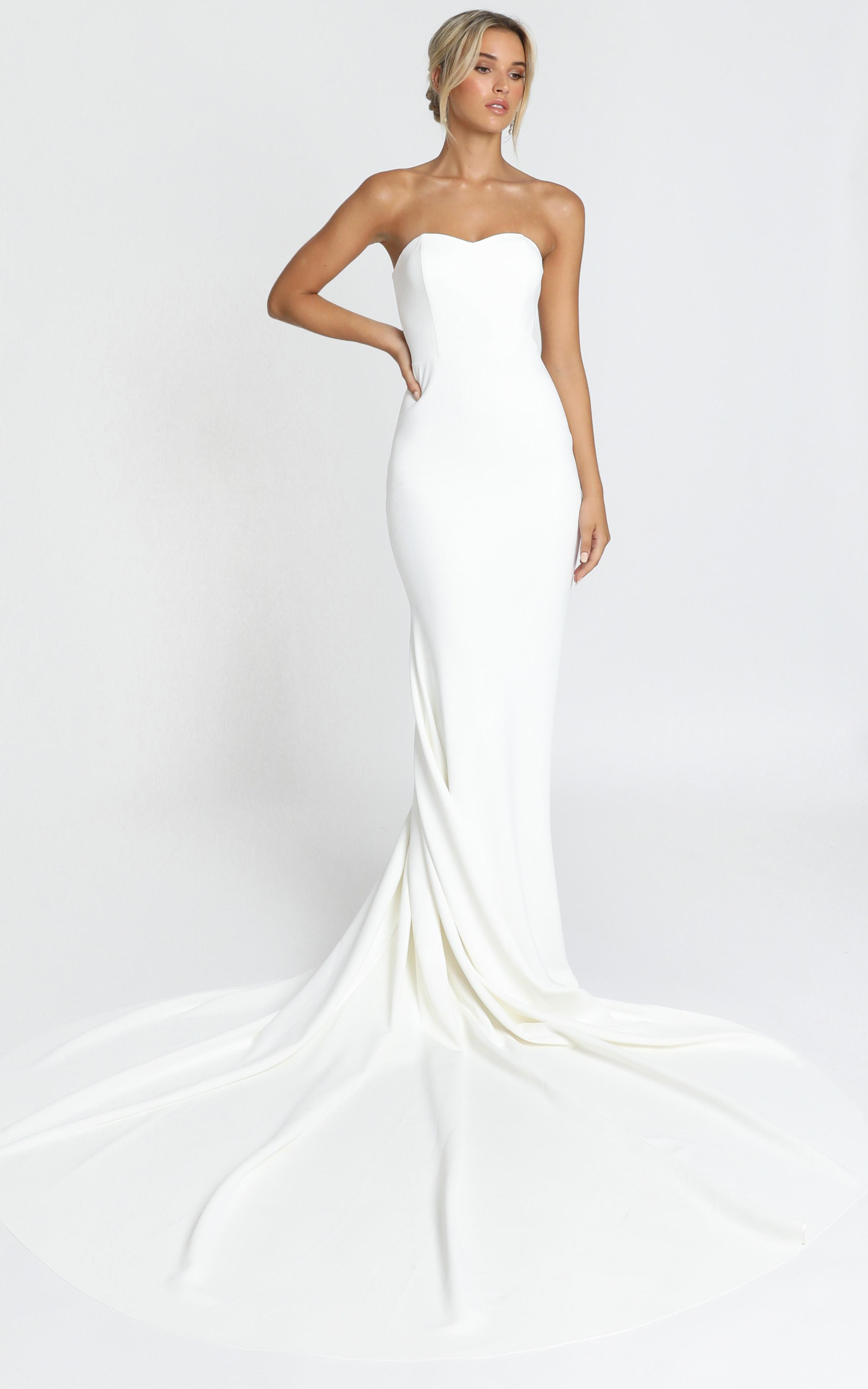Vows For Life Gown in white - 20 (XXXXL), White, hi-res image number null