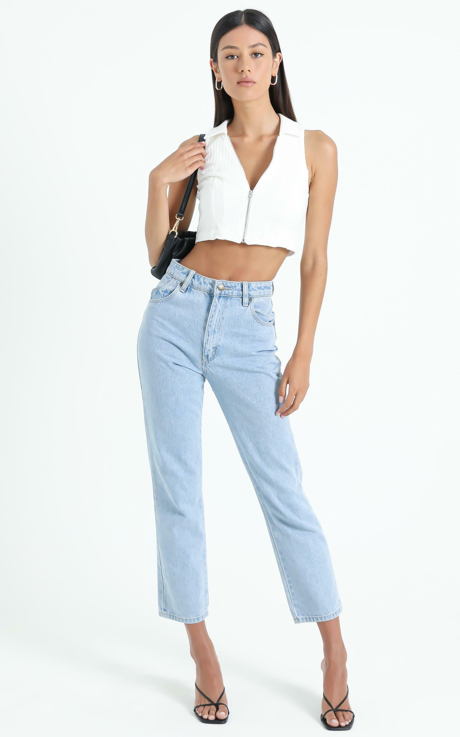 Eabha Top in White - 6 (XS), White, hi-res image number null