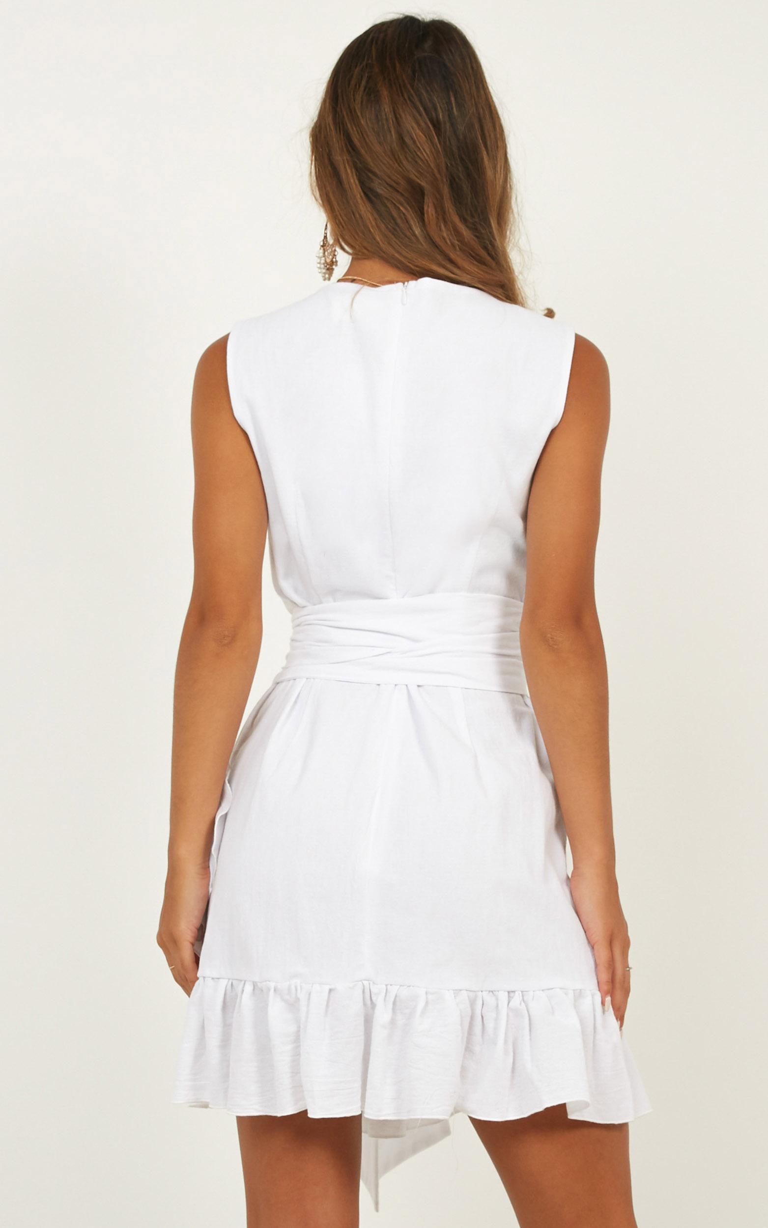 Slow Searching Dress in white - 18 (XXXL), White, hi-res image number null