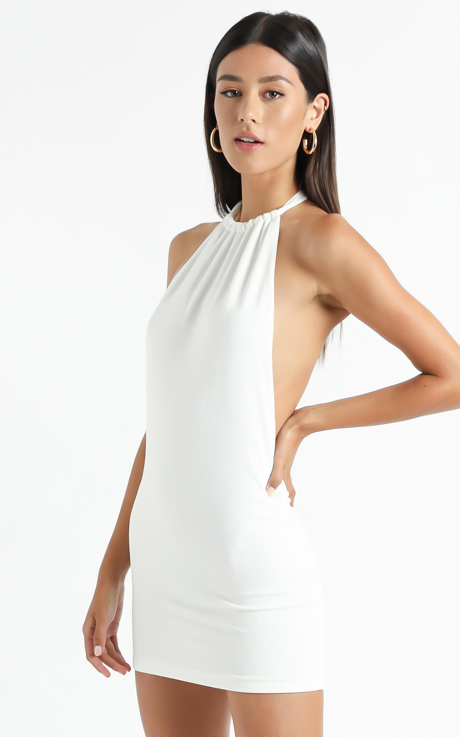 Lioness - The Ray Dress in White - XS, White, hi-res image number null