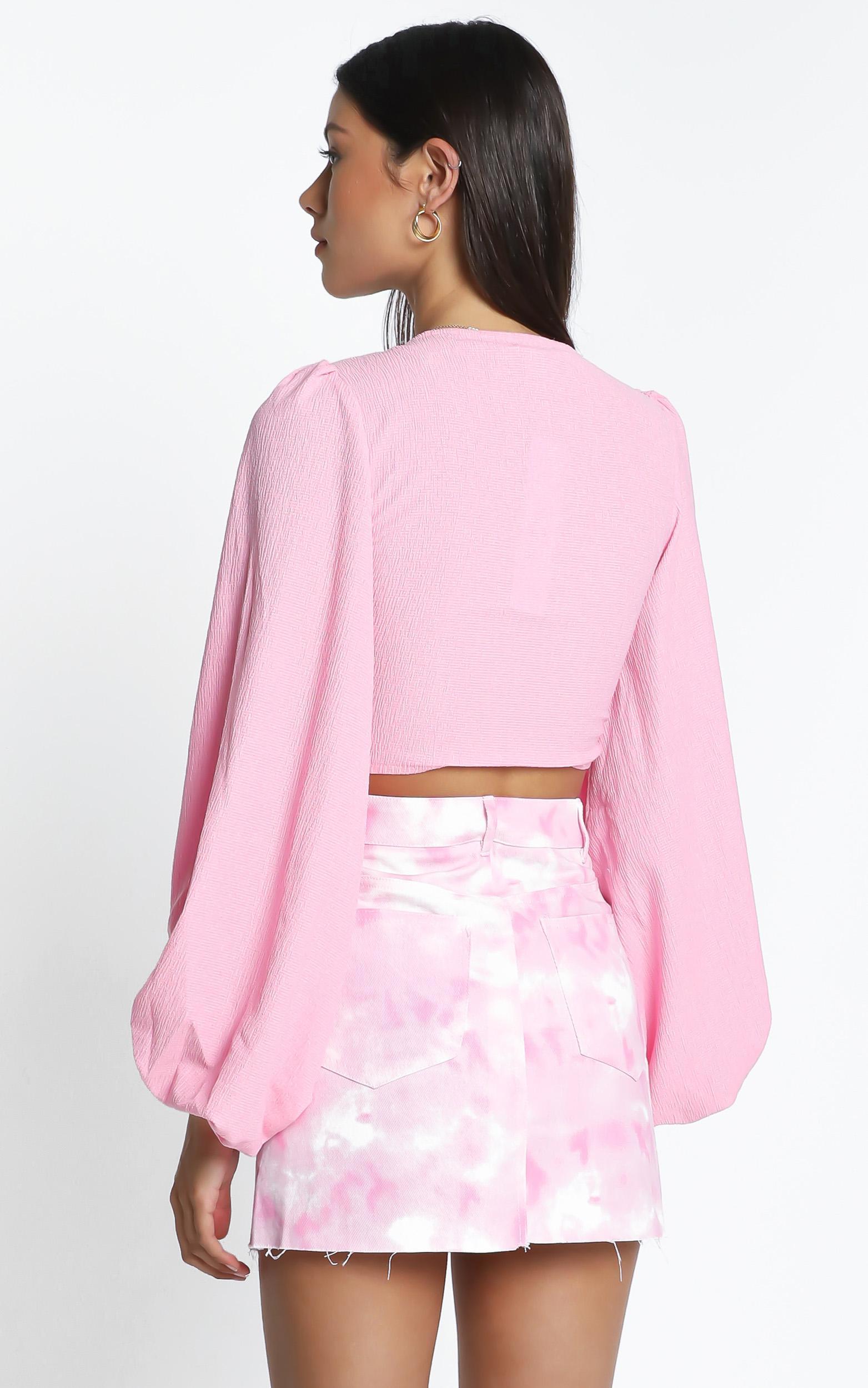 Sasha Top in Pink - 12 (L), Pink, hi-res image number null