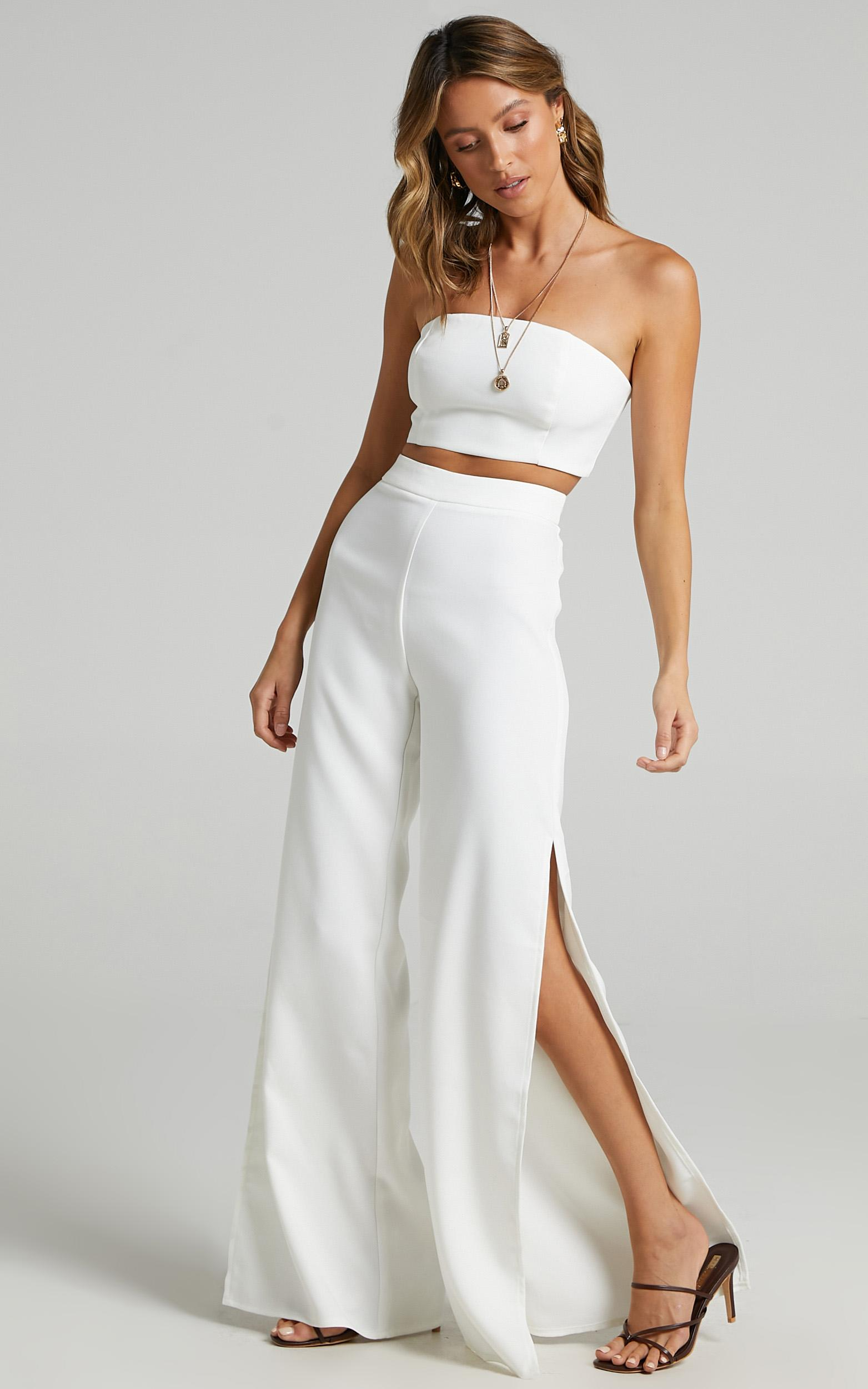 Im The One Two Piece Set in White - 08, WHT8, hi-res image number null